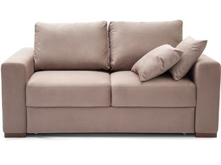 Диван-кровать luma (myfurnish) бежевый 182x92x104 см.