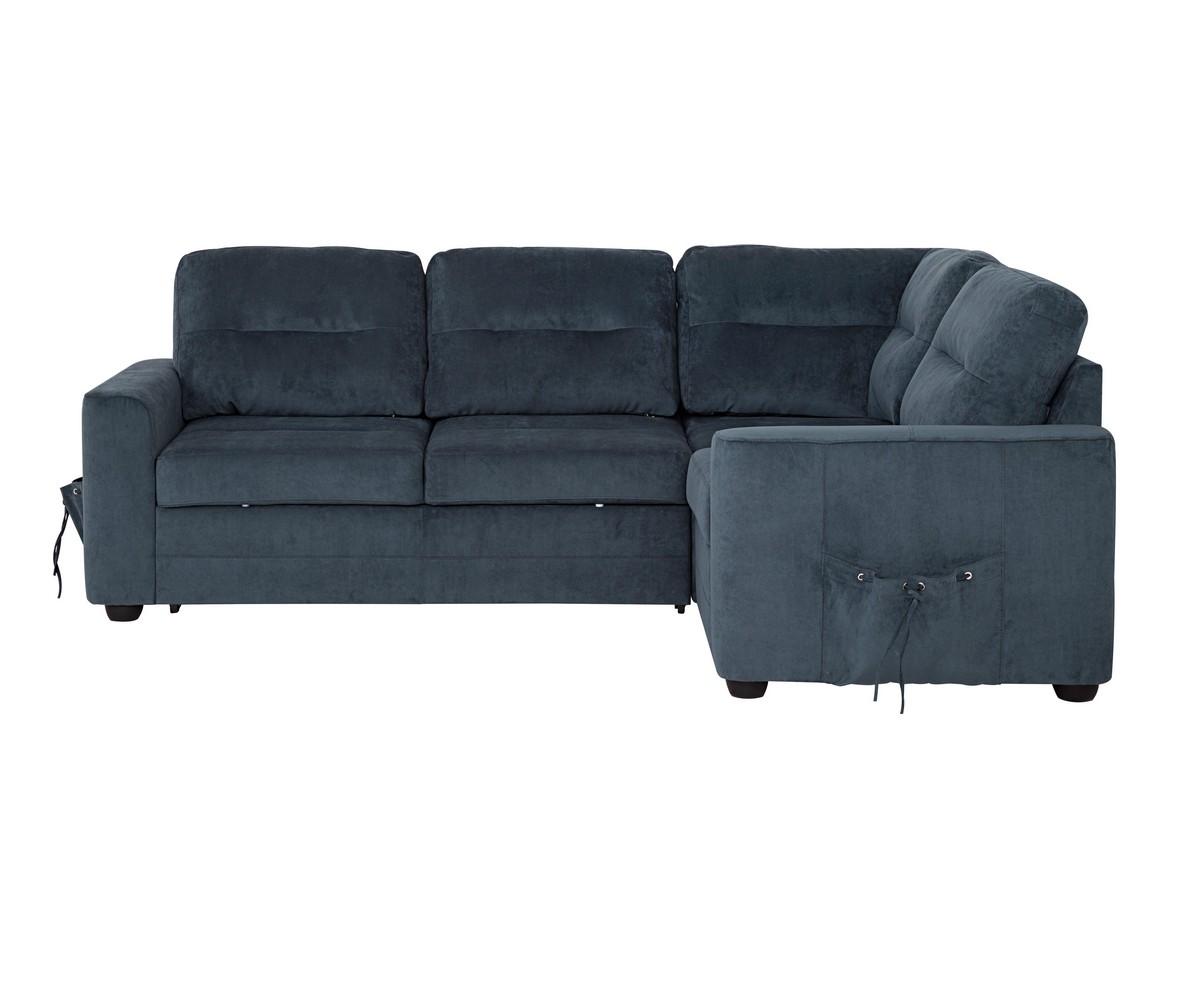 Угловой диван БеллиноУгловые раскладные диваны<br>Модели «Беллино» присуща яркая индивидуальность и законченность во всем облике, благодаря эффективным боковым карманам. Дизайн этого углового дивана является продуктом сочетания модных тенденций лаконичности минимализма и классики, что позволяет ему дополнить интерьер гостиной, кабинета или холла.<br>Механизм трансформации &amp;quot;Дельфин&amp;quot; одним движением превратит стильный диван в удобную двуспальную кровать. Требует сборки. Все крепления входят в стоимость<br><br>Material: Велюр<br>Width см: 235<br>Depth см: 168<br>Height см: 88
