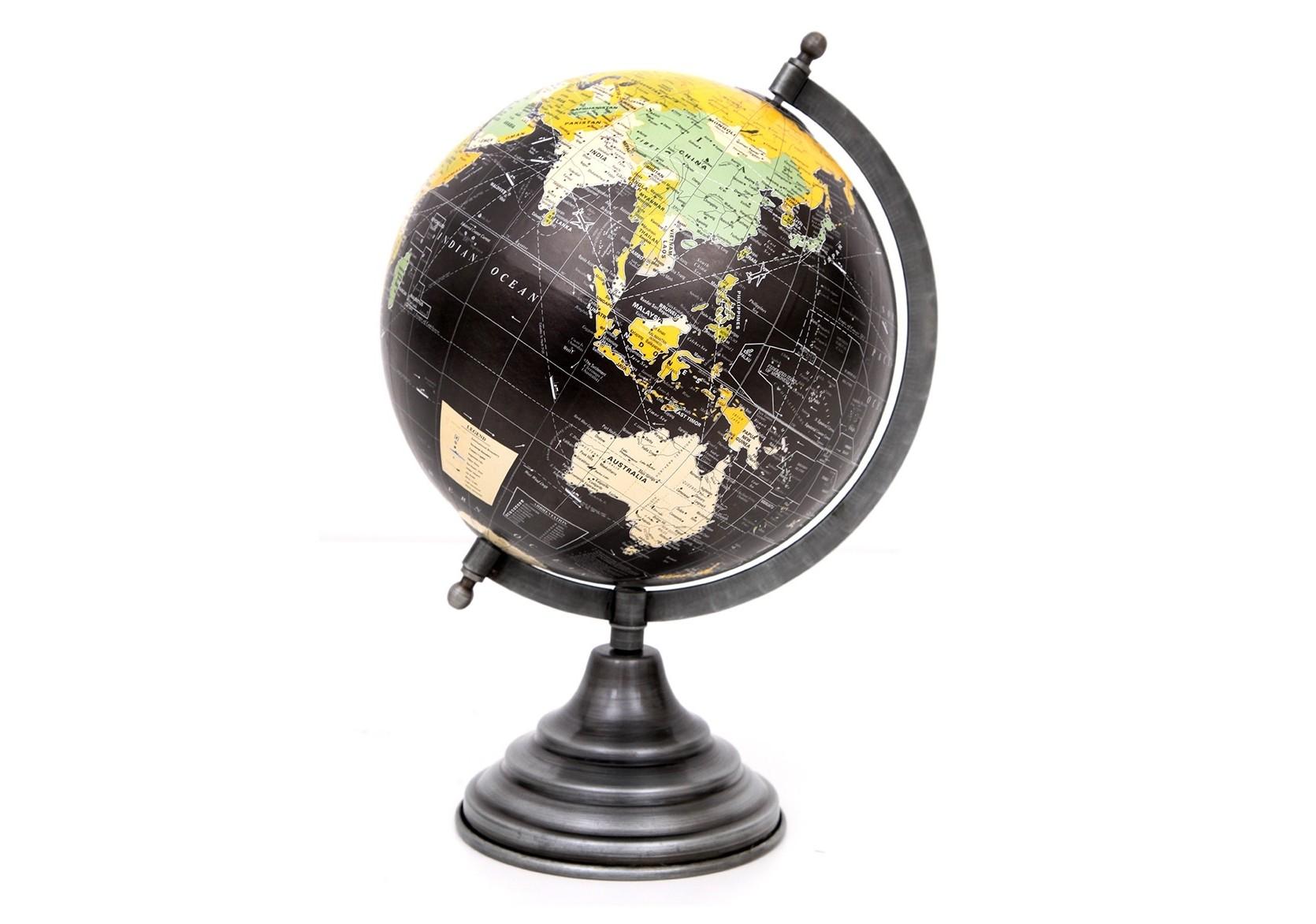 Глобус землиДругое<br><br><br>Material: Металл<br>Ширина см: 34.0<br>Высота см: 1.0<br>Глубина см: 34.0