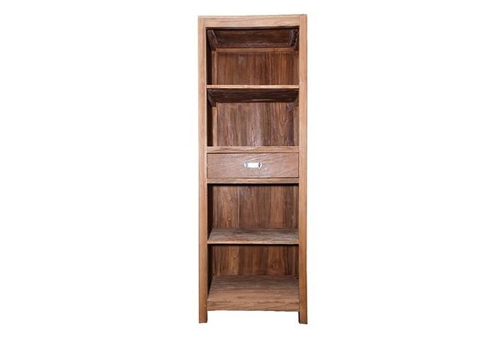 Шкаф БермудаКнижные шкафы и библиотеки<br>ROOMERS – это особенная коллекция, воплощение всего самого лучшего, модного и новаторского в мире дизайнерской мебели, предметов декора и стильных аксессуаров. Интерьерные решения от ROOMERS – всегда актуальны, более того, они - на острие моды. Коллекции ROOMERS тщательно отбираются и обновляются дважды в год специально для вас.<br><br>Material: Тик<br>Width см: 45<br>Depth см: 65<br>Height см: 180