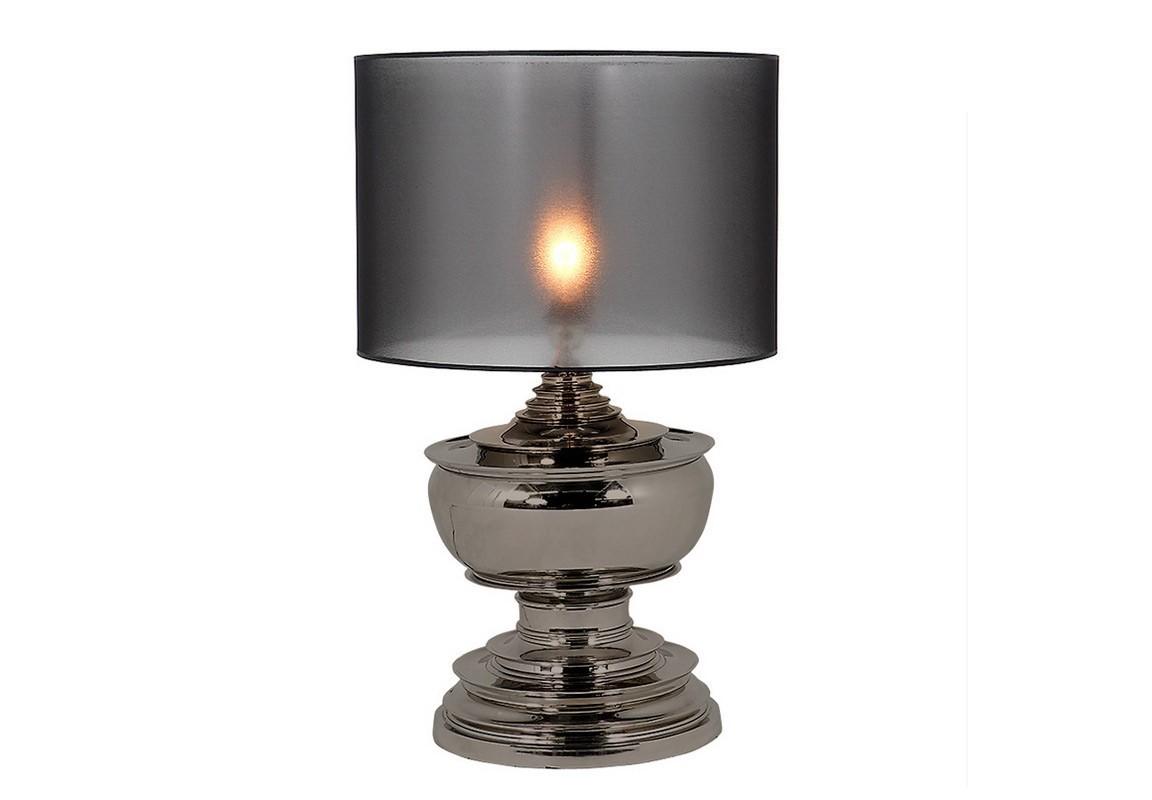 Настольная лампа PagodaДекоративные лампы<br>Настольная лампа Lamp Pagoda с металлическим основанием цвета темный никель. Плафон изготовлен из полупрозрачного матового пластика цилиндрической формы. Рассеиватель выполнен с эффектом керосиновой лампы.&amp;lt;div&amp;gt;&amp;lt;br&amp;gt;&amp;lt;/div&amp;gt;&amp;lt;div&amp;gt;&amp;lt;div&amp;gt;Цоколь: E27&amp;lt;/div&amp;gt;&amp;lt;div&amp;gt;Мощность: 40W&amp;lt;/div&amp;gt;&amp;lt;div&amp;gt;Количество ламп: 1&amp;lt;/div&amp;gt;&amp;lt;/div&amp;gt;<br><br>Material: Металл<br>Ширина см: 50.0<br>Высота см: 80.0