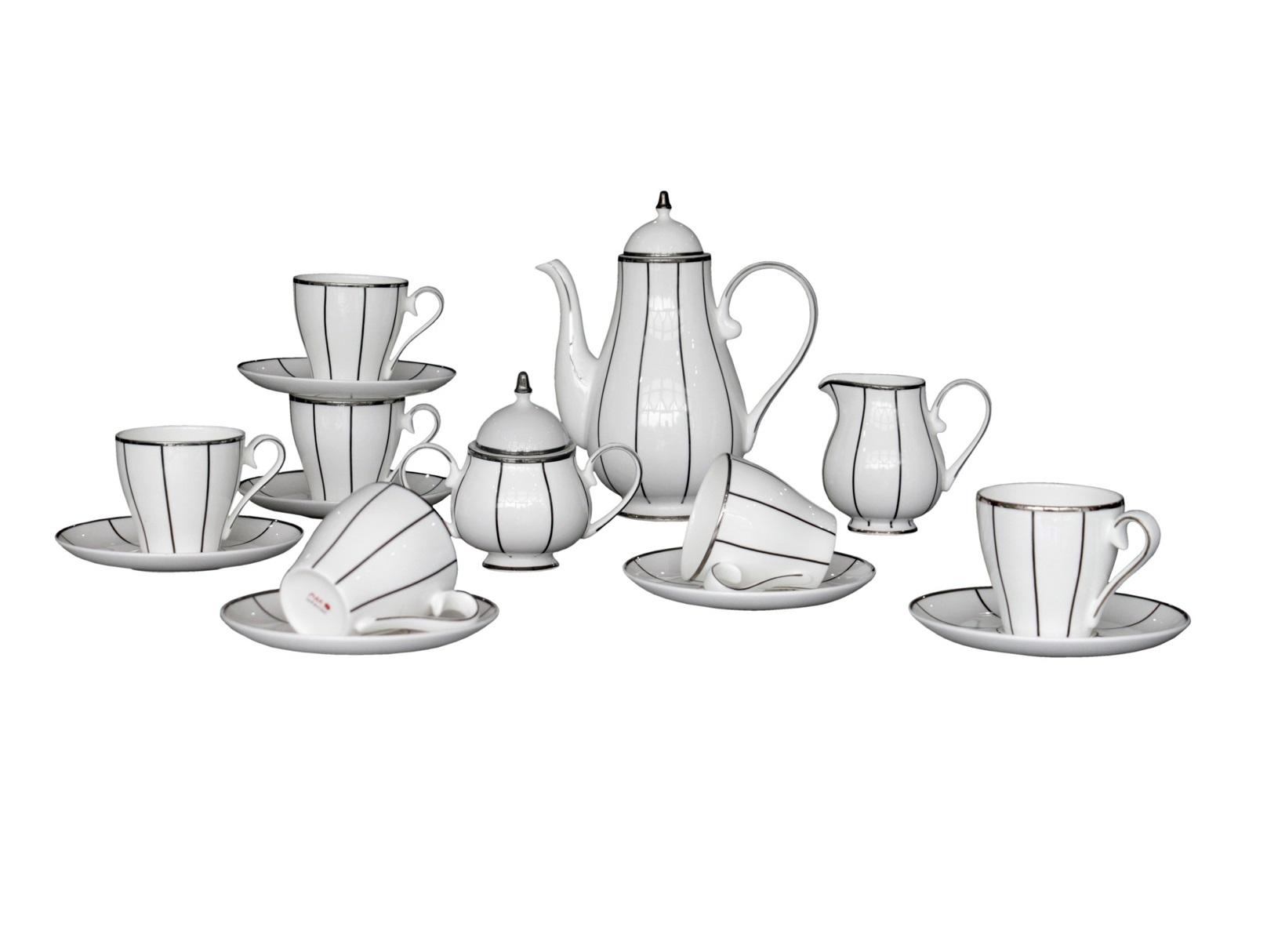 Чайный сервиз Flavour (17шт.)Чайные сервизы<br>Грациозный, обворожительный чайный сервиз Flavour отлично дополнит элегантный интерьер Вашей кухни. Его белый цвет удачно гармонирует с серебряными узорами, а классическая форма сервиза привнесет элегантности и тепла в Ваш интерьер.&amp;lt;div&amp;gt;&amp;lt;br&amp;gt;&amp;lt;/div&amp;gt;&amp;lt;div&amp;gt;Состав набора посуды:&amp;lt;br&amp;gt;&amp;lt;/div&amp;gt;&amp;lt;div&amp;gt;1 Заварочный чайник: высота &amp;amp;nbsp;c крышкой 23 &amp;amp;nbsp;см, ширина 19,5 &amp;amp;nbsp;см, глубина 10 см;<br>&amp;amp;nbsp;&amp;amp;nbsp;&amp;lt;/div&amp;gt;&amp;lt;div&amp;gt;6 блюдец: диаметр 15,5 см, высота 1,7 см;<br>&amp;amp;nbsp;&amp;amp;nbsp;&amp;lt;/div&amp;gt;&amp;lt;div&amp;gt;6 чашек: высота 7,7 см, ширина: 10,5 см, глубина: 8 см;<br>&amp;amp;nbsp;&amp;amp;nbsp;&amp;lt;/div&amp;gt;&amp;lt;div&amp;gt;1 сахарница: высота 12,7 см, ширина: 15,5, глубина: 9,5 см;<br>&amp;amp;nbsp;&amp;amp;nbsp;&amp;lt;/div&amp;gt;&amp;lt;div&amp;gt;1 сливочник: высота: 11 см, ширина 13 см, глубина: 8,2 см.&amp;amp;nbsp;&amp;lt;/div&amp;gt;&amp;lt;div&amp;gt;&amp;lt;br&amp;gt;&amp;lt;/div&amp;gt;&amp;lt;div&amp;gt;&amp;amp;nbsp;Материал Костяной фарфор.&amp;lt;/div&amp;gt;<br><br>Material: Фарфор<br>Height см: 1,7<br>Diameter см: 15,5
