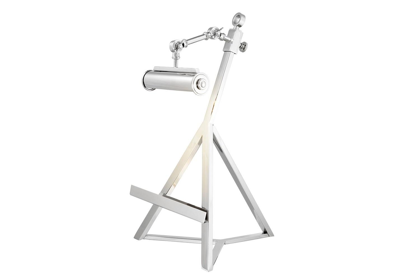 Настольная лампаДекоративные лампы<br>Лампа для рабочего стола c подставкой для книг Book Stand Franklin с регулируемой лампой. Выполнена из никелированного металла.&amp;lt;div&amp;gt;&amp;lt;br&amp;gt;&amp;lt;/div&amp;gt;&amp;lt;div&amp;gt;&amp;lt;div&amp;gt;Цоколь: E14&amp;lt;/div&amp;gt;&amp;lt;div&amp;gt;Мощность: 40W&amp;lt;/div&amp;gt;&amp;lt;div&amp;gt;Количество ламп: 1&amp;lt;/div&amp;gt;&amp;lt;/div&amp;gt;<br><br>Material: Металл<br>Width см: 32<br>Depth см: 32<br>Height см: 57