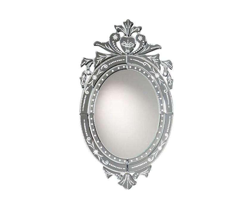 ЗеркалоНастенные зеркала<br>Зеркало Midas в раме из стеклянных пластин с фаской и с узорной гравировкой.<br><br>Material: Стекло<br>Ширина см: 40<br>Высота см: 70<br>Глубина см: 2