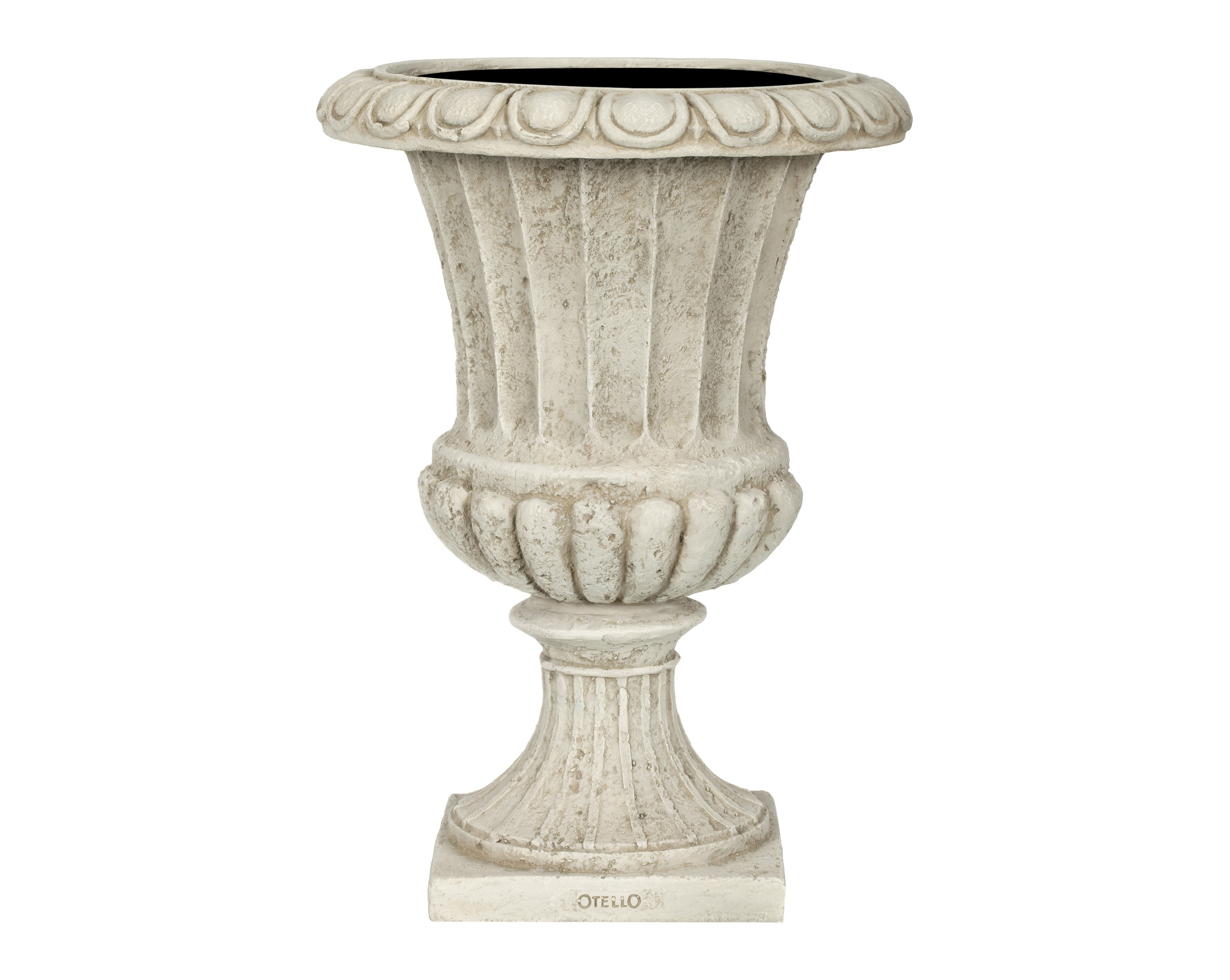 Ваза ГРАССКашпо и подставки для дачи и сада<br>CAPI CLASSIC – это вазы в классическом французском стиле.  Вазы отличаются  декоративной каймой с изысканным цветочным узором.  <br>Коллекцию дополняют пьедесталы, с которыми вазы прекрасно согласуются и величественно выглядят рядом с входной дверью или на классической террасе.  Комплекты из ваз не только позволяют создать  красивую композицию, но и значительно облегчают уход за растениями. С их помощью легко расставить акценты на тропинках, входе в дом или на террасе.<br>Вазы CAPI EUROPE не боятся перепадов температуры и влажности воздуха. Все вазы могут быть использованы в доме и на улице круглый год. На дне каждой вазы есть дренажное отверстие, что позволит уберечь  вазу в морозы.<br><br>Material: Полистоун<br>Высота см: 50