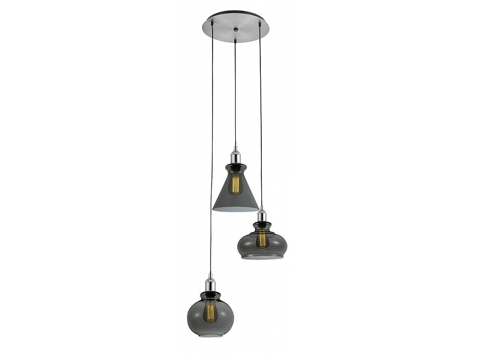 Подвесной светильник TreПодвесные светильники<br>&amp;lt;div&amp;gt;Вид цоколя: E27&amp;lt;/div&amp;gt;&amp;lt;div&amp;gt;Мощность: 60W&amp;lt;/div&amp;gt;&amp;lt;div&amp;gt;Количество ламп: 3&amp;lt;/div&amp;gt;<br><br>Material: Стекло<br>Height см: 16<br>Diameter см: 54