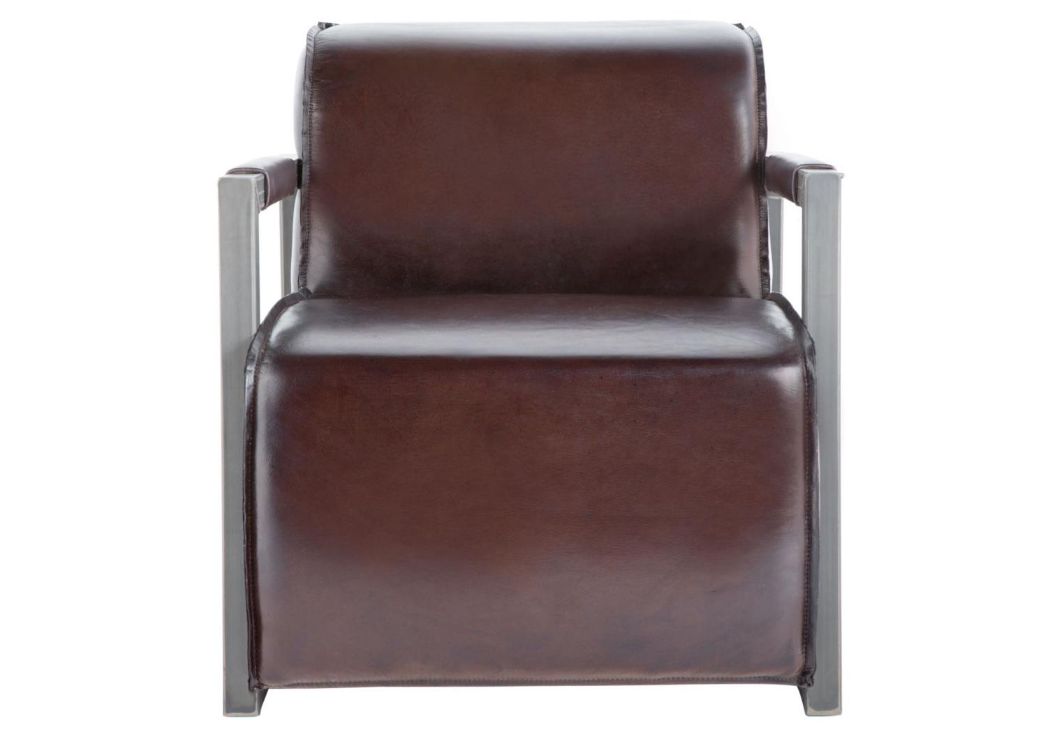 Кресло Mica Rich BrownКожаные кресла<br><br><br>Material: Кожа<br>Width см: 81<br>Depth см: 72<br>Height см: 73