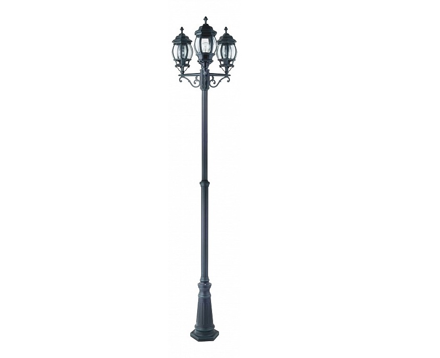 Фонарный столб ParisУличные наземные светильники<br>&amp;lt;div&amp;gt;Вид цоколя: E27&amp;lt;/div&amp;gt;&amp;lt;div&amp;gt;Мощность: 100W&amp;lt;/div&amp;gt;&amp;lt;div&amp;gt;Количество ламп: 3&amp;lt;/div&amp;gt;<br><br>Material: Металл<br>Depth см: 172<br>Height см: 225<br>Diameter см: 60
