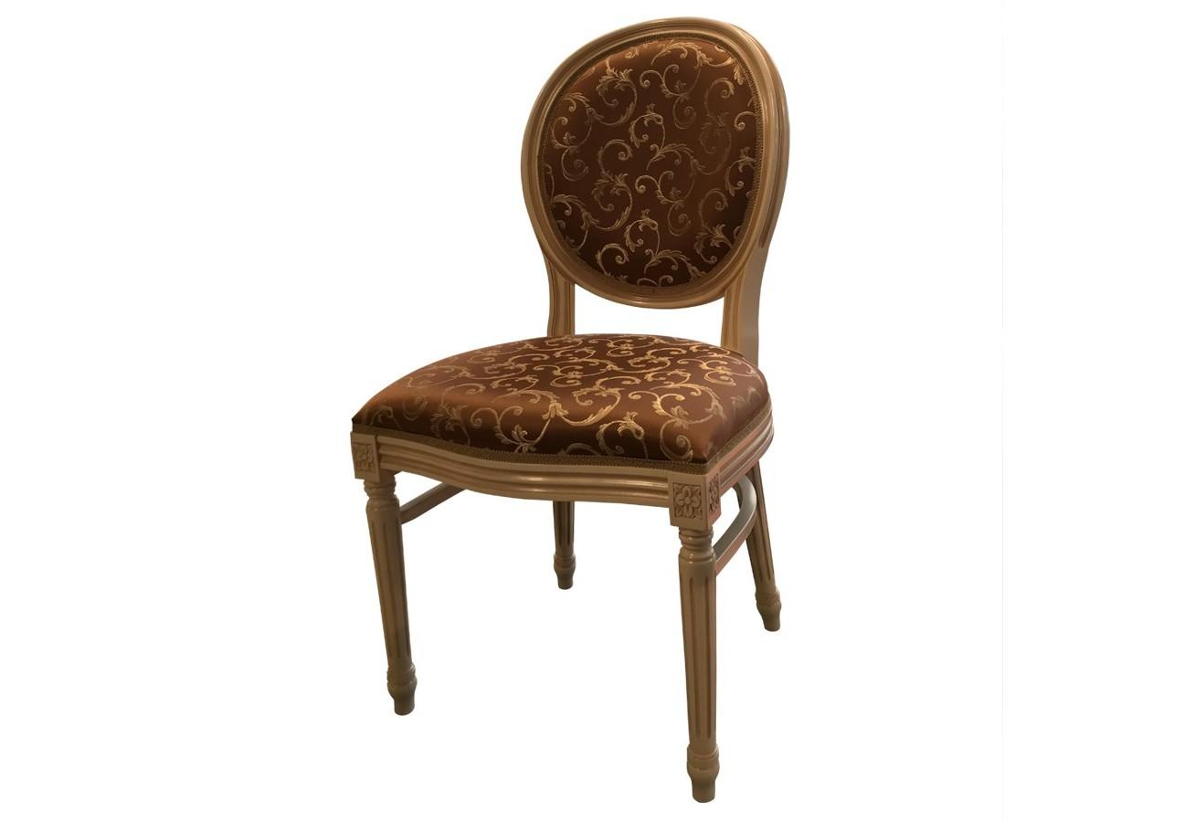 Стул Луиз-2Обеденные стулья<br>&amp;lt;div&amp;gt;Луиз-2 – стул столярной, неразборной конструкции высокой комфортабельности из массива бука.&amp;amp;nbsp;&amp;lt;/div&amp;gt;&amp;lt;div&amp;gt;Передние ножки и задние ножки стула - точеные с канилюрами. В конструкции стула присутствуют проножки, придающими ему дополнительную жесткость. Спинка стула круглой формы, мягкая и изогнутая по радиусу.&amp;amp;nbsp;&amp;lt;/div&amp;gt;&amp;lt;div&amp;gt;Стул отличает наличие множества декоративных элементов ручной работы на передних ножках, царговом поясе, подлокотниках, верхушке спинки, что придает стулу элегантность и изысканность.&amp;lt;/div&amp;gt;<br><br>Material: Текстиль<br>Width см: 50<br>Depth см: 46<br>Height см: 96