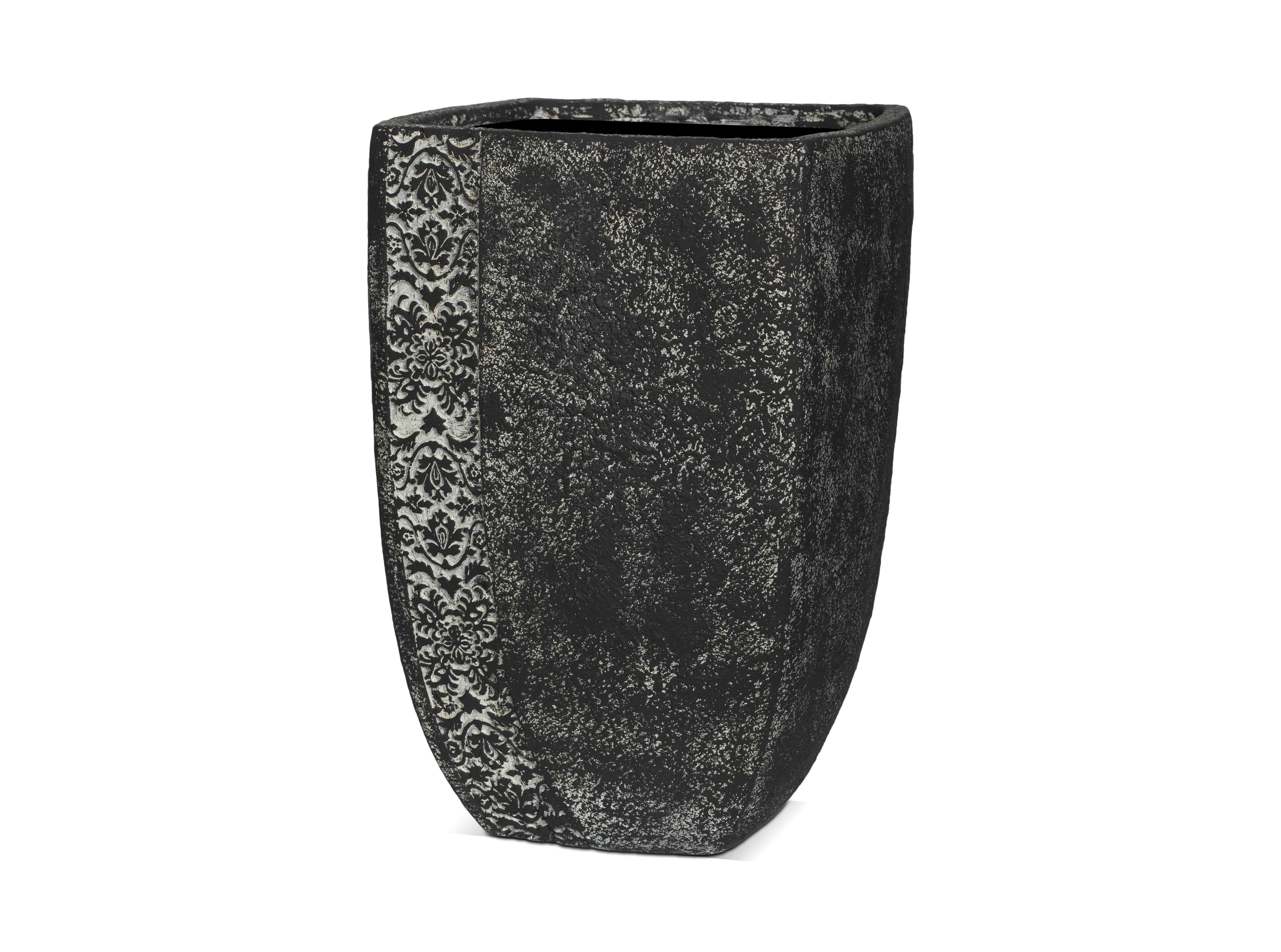 Ваза ТУЛУЗАКашпо и подставки для дачи и сада<br>CAPI CLASSIC – это вазы в классическом французском стиле.  Вазы отличаются  декоративной каймой с изысканным цветочным узором.  <br>Коллекцию дополняют пьедесталы, с которыми вазы прекрасно согласуются и величественно выглядят рядом с входной дверью или на классической террасе.  Комплекты из ваз не только позволяют создать  красивую композицию, но и значительно облегчают уход за растениями. С их помощью легко расставить акценты на тропинках, входе в дом или на террасе.<br>Вазы CAPI EUROPE не боятся перепадов температуры и влажности воздуха. Все вазы могут быть использованы в доме и на улице круглый год. На дне каждой вазы есть дренажное отверстие, что позволит уберечь  вазу в морозы.<br><br>Material: Полистоун<br>Length см: None<br>Width см: 37<br>Depth см: 34<br>Height см: 55<br>Diameter см: None