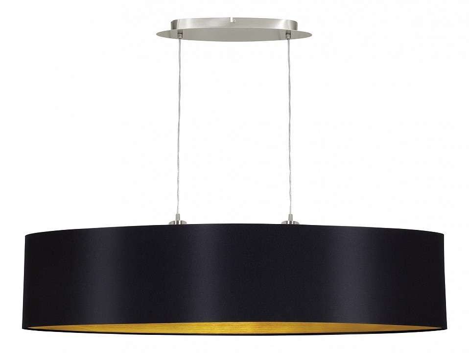 Подвесной светильник MaserloПодвесные светильники<br>&amp;lt;div&amp;gt;Вид цоколя: E27&amp;lt;/div&amp;gt;&amp;lt;div&amp;gt;Мощность: 60W&amp;lt;/div&amp;gt;&amp;lt;div&amp;gt;Количество ламп: 2&amp;lt;/div&amp;gt;<br><br>Material: Металл<br>Length см: None<br>Width см: 100<br>Depth см: 25<br>Height см: 110