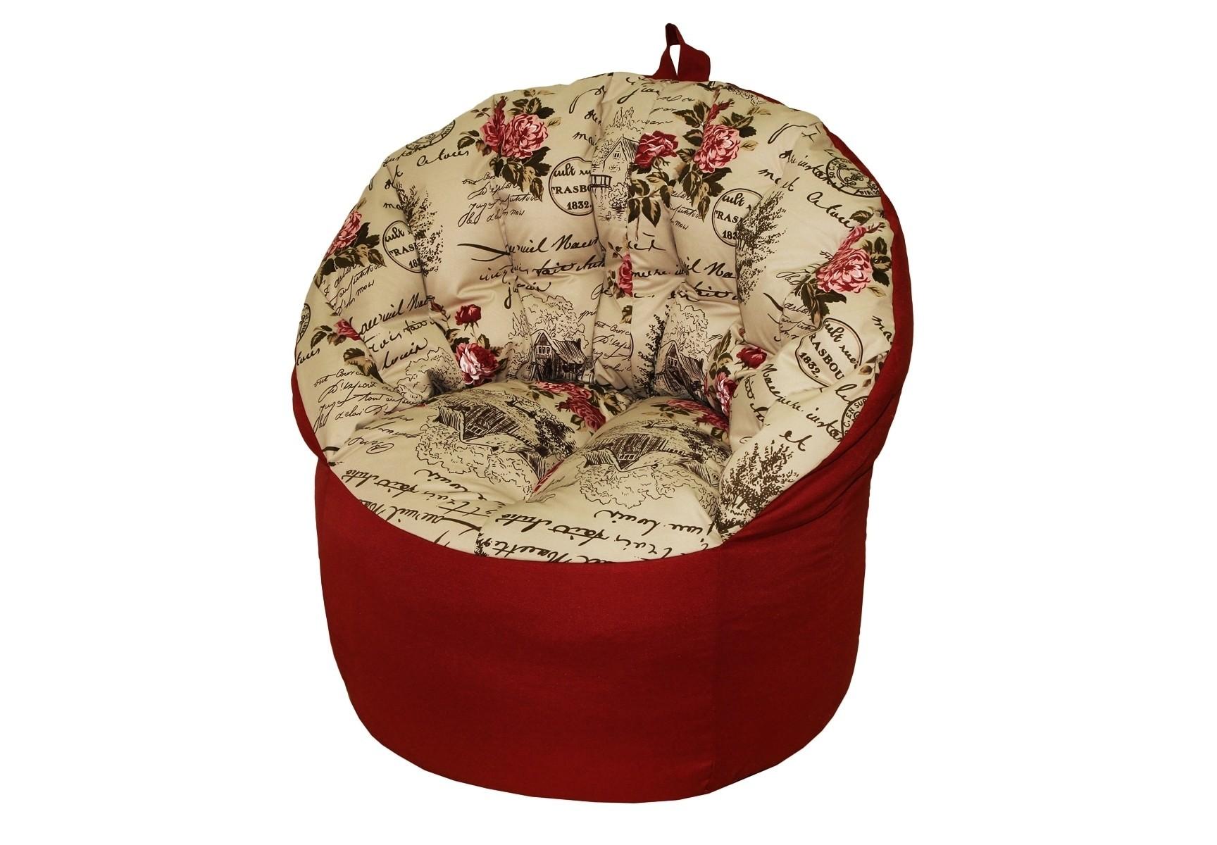 Кресло-пуфФорменные пуфы<br>Комфортное кресло-пуф станет неотьемлемой частью вашего дома. Спинка кресла держит форму и обеспечивает круговую поддержку для спины за счет особой системы пошива. Кресло имеет 2 независимых отсека для наполнителя. Эксклюзивная   ткань разбавит ваш интерьер яркими красками.<br><br>Material: Текстиль<br>Length см: None<br>Width см: 91<br>Depth см: 85<br>Height см: 79