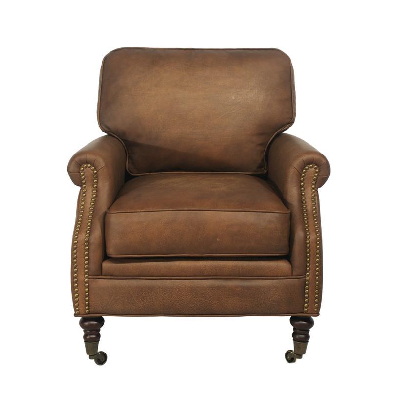 Кресло CliffordКресла с высокой спинкой<br><br><br>Material: Кожа<br>Width см: 76.0<br>Depth см: 83.0<br>Height см: 88.0