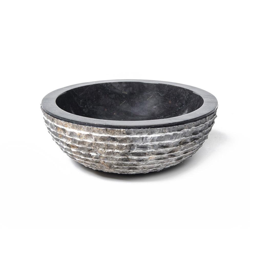 """Раковина  """"Marple Black""""Раковины<br><br><br>Material: Камень<br>Высота см: 15"""