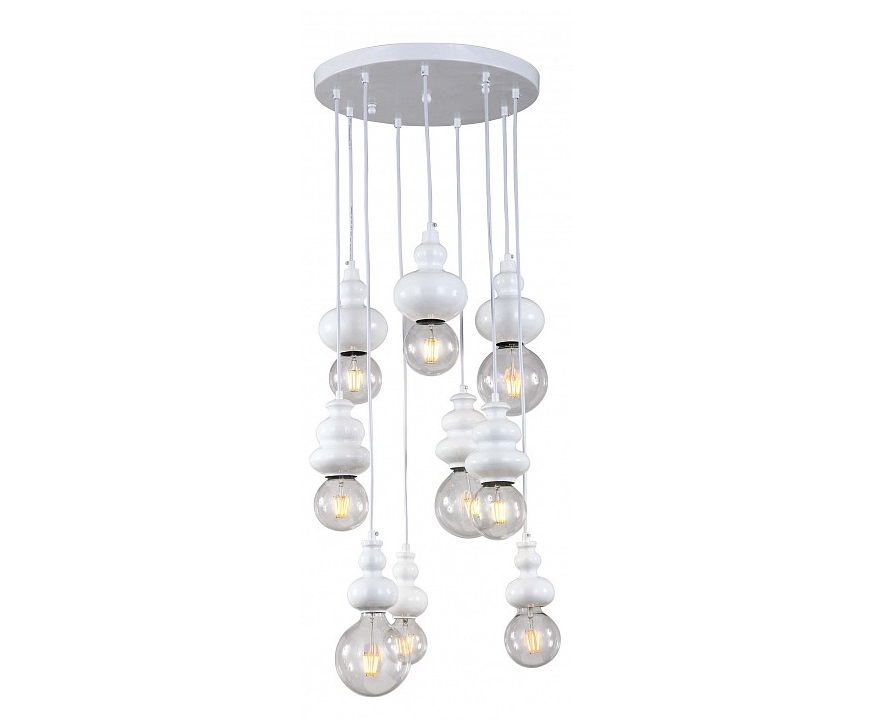 Подвесной светильник BibiliПодвесные светильники<br>&amp;lt;div&amp;gt;Вид цоколя: E27&amp;lt;/div&amp;gt;&amp;lt;div&amp;gt;Мощность: 40W&amp;lt;/div&amp;gt;&amp;lt;div&amp;gt;Количество ламп: 9&amp;lt;/div&amp;gt;<br><br>Material: Металл<br>Height см: 118<br>Diameter см: 40