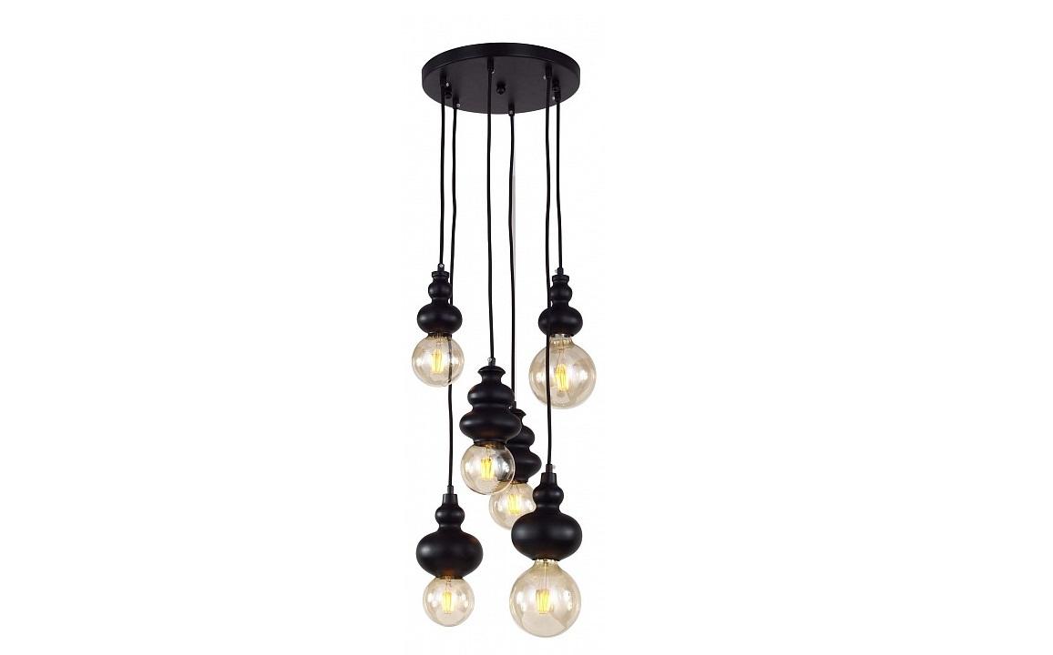 Подвесной светильник BibiliПодвесные светильники<br>&amp;lt;div&amp;gt;Вид цоколя: E27&amp;lt;/div&amp;gt;&amp;lt;div&amp;gt;Мощность: 40W&amp;lt;/div&amp;gt;&amp;lt;div&amp;gt;Количество ламп: 6&amp;lt;/div&amp;gt;<br><br>Material: Металл<br>Height см: 68<br>Diameter см: 30