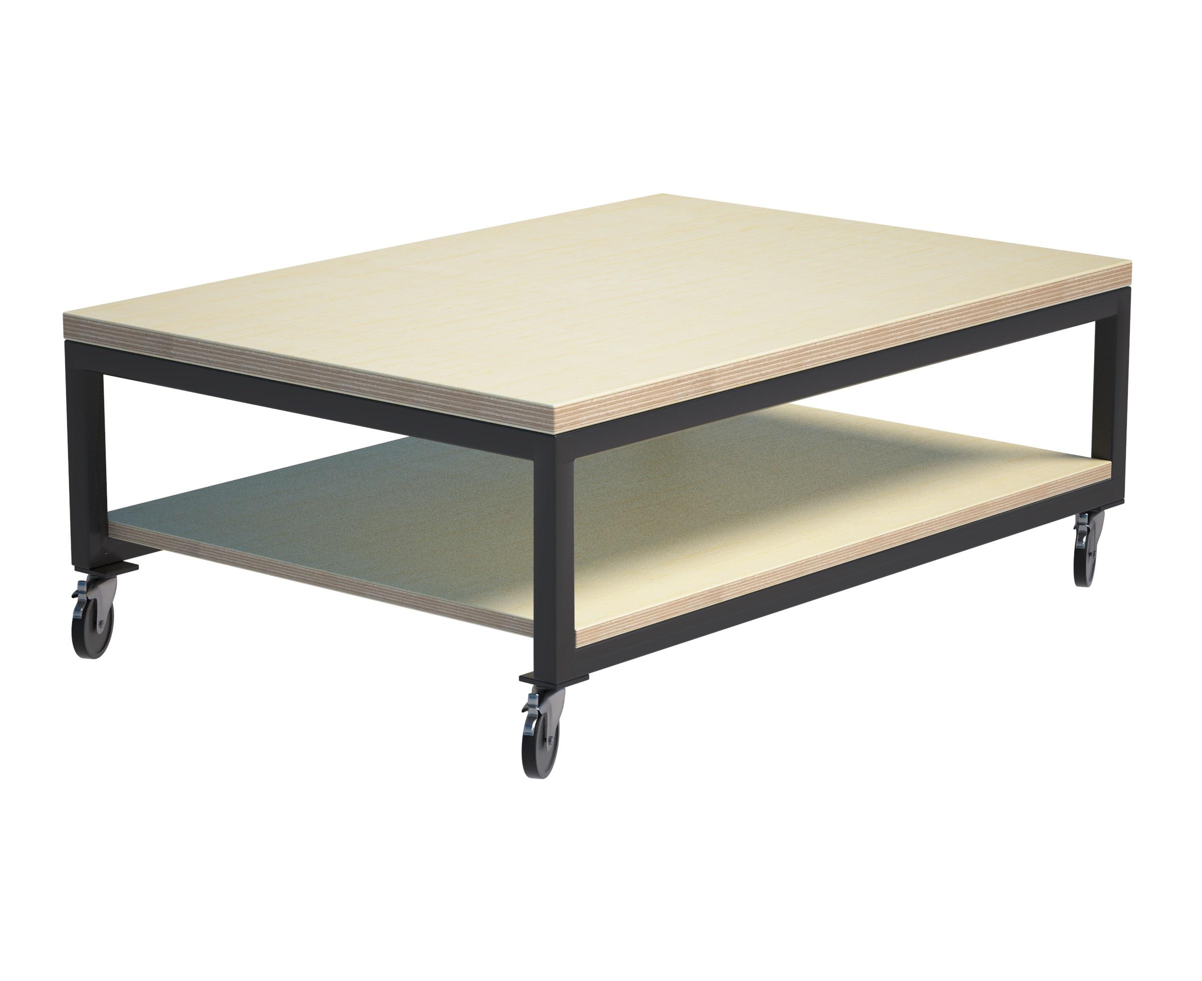 Журнальный стол 2FL MetaltubeЖурнальные столики<br>В дизайне &amp;quot;2FL Metaltube&amp;quot; все продумано до мелочей. Столешница напоминает выбеленную паркетную доску. Светлый верх играет на контрасте с темным низом. Нижнее основание представлено слитной конструкцией из металлических профилей, соединенных полкой.&amp;amp;nbsp;&amp;lt;div&amp;gt;&amp;lt;br&amp;gt;&amp;lt;/div&amp;gt;&amp;lt;div&amp;gt;Возможно изготовление в других размерах и цветах. Подробности уточняйте у менеджеров.&amp;lt;br&amp;gt;&amp;lt;/div&amp;gt;&amp;lt;div&amp;gt;&amp;lt;span style=&amp;quot;font-size: 14px;&amp;quot;&amp;gt;Материал: березовая фанера, сталь, колеса.&amp;lt;/span&amp;gt;&amp;lt;br&amp;gt;&amp;lt;/div&amp;gt;<br><br>Material: Фанера<br>Ширина см: 80<br>Высота см: 35<br>Глубина см: 40