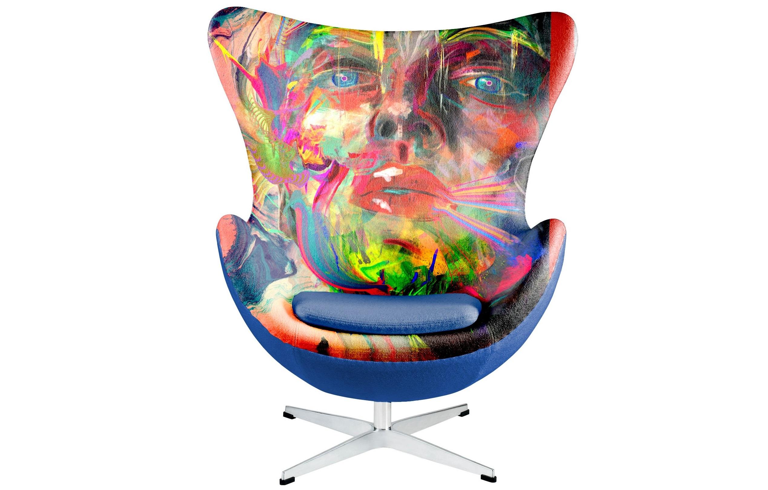 Кресло EGG Sweet AmberКожаные кресла<br>Уникальный дизайн. Кресло с притом супер талантливого и знаменитого во всем мире индийского художника Archan Nair / Арчан Наир. Он сотрудничал с многими людьми и разными компаниями во всем мире, такими как Canon, Nike, Tiger Beer, Sony и т.д. а теперь еще и с производтелями предметов интерьера ICON DESIGNE. Произвдено из экологически чистых материалов. Каркас - стекловолокно ,ножки  - металл. Модель представлена в ткани микровелюр – мягкий, бархатистый материал, широко используемый в качестве обивки для мебели. Обладает целым рядом замечательных свойств: отлично пропускает воздух, отталкивает пыль и долго сохраняет изначальный цвет, не протираясь и не выцветая. Высокие эксплуатационные свойства в сочетании с превосходным дизайном обеспечили микровелюру большую популярность.&amp;nbsp;Варианты исполнения: <br>По желанию возможность выбрать ткань из других коллекций.&amp;nbsp;Гарантия: от производителя 1 годГарантия от производителя&amp;nbsp;Материалы: береза, текстиль.&amp;nbsp;Продукция изготавливается под заказ, стандартный срок производства 3-4 недели.&amp;nbsp;Более точную информацию уточняйте у менеджера.<br><br>kit: None<br>gender: None