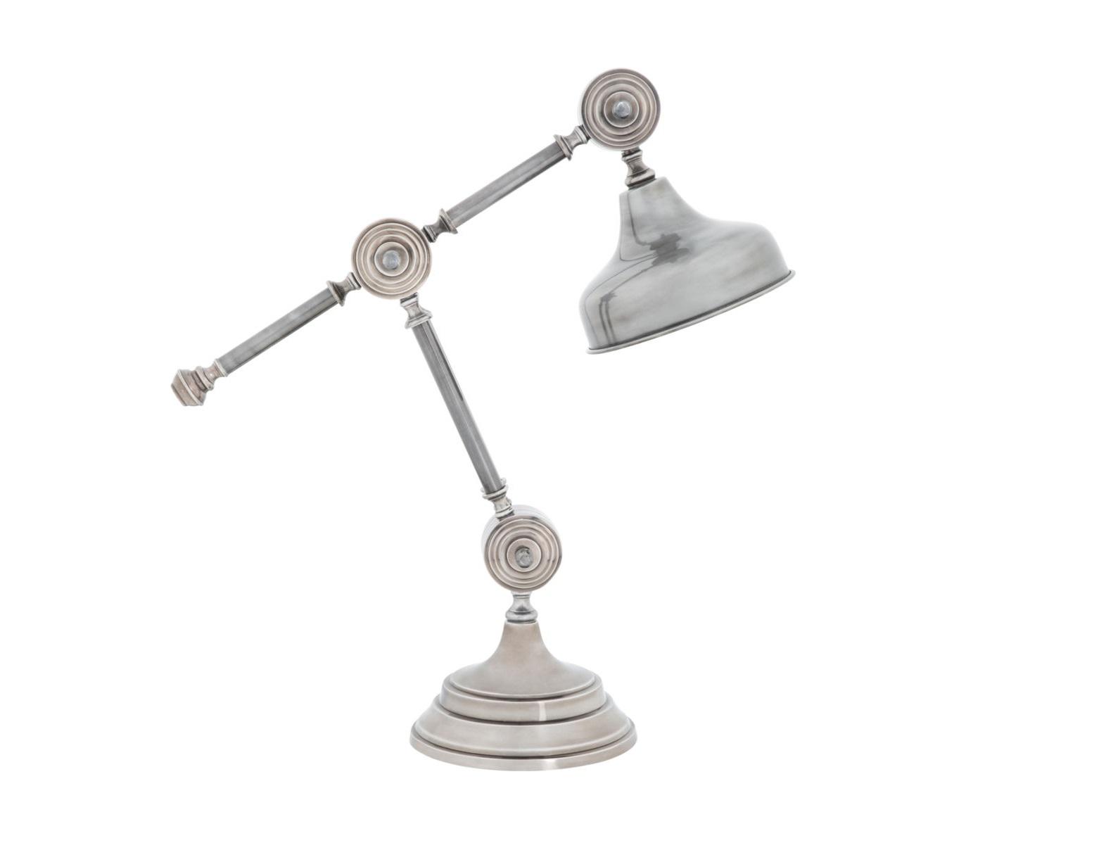 Лампа настольнаяНастольные лампы<br>&amp;lt;div&amp;gt;Вид цоколя: Е27&amp;lt;br&amp;gt;&amp;lt;/div&amp;gt;&amp;lt;div&amp;gt;Мощность: 40W&amp;lt;/div&amp;gt;&amp;lt;div&amp;gt;Количество ламп: 1&amp;amp;nbsp;(нет в комплекте)&amp;lt;/div&amp;gt;&amp;lt;div&amp;gt;&amp;lt;br&amp;gt;&amp;lt;/div&amp;gt;<br><br>Material: Алюминий<br>Width см: 22<br>Depth см: 61<br>Height см: 69