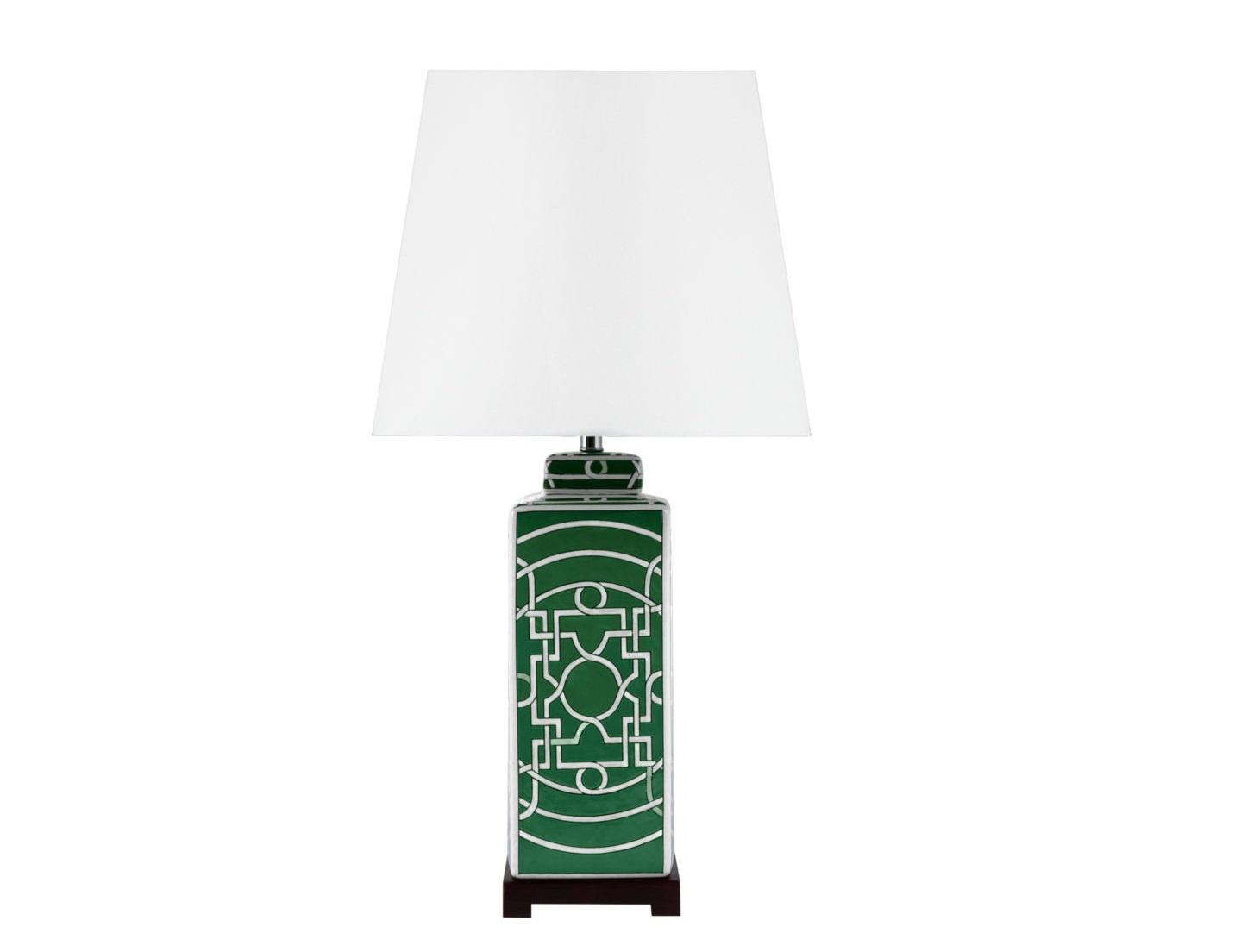 Лампа настольная Pattern greenДекоративные лампы<br>&amp;lt;div&amp;gt;Вид цоколя: Е27&amp;lt;br&amp;gt;&amp;lt;/div&amp;gt;&amp;lt;div&amp;gt;Мощность: 60W&amp;lt;/div&amp;gt;&amp;lt;div&amp;gt;Количество ламп: 1&amp;amp;nbsp;(нет в комплекте)&amp;lt;/div&amp;gt;&amp;lt;div&amp;gt;&amp;lt;br&amp;gt;&amp;lt;/div&amp;gt;<br><br>Material: Керамика<br>Width см: None<br>Depth см: None<br>Height см: 78<br>Diameter см: 36