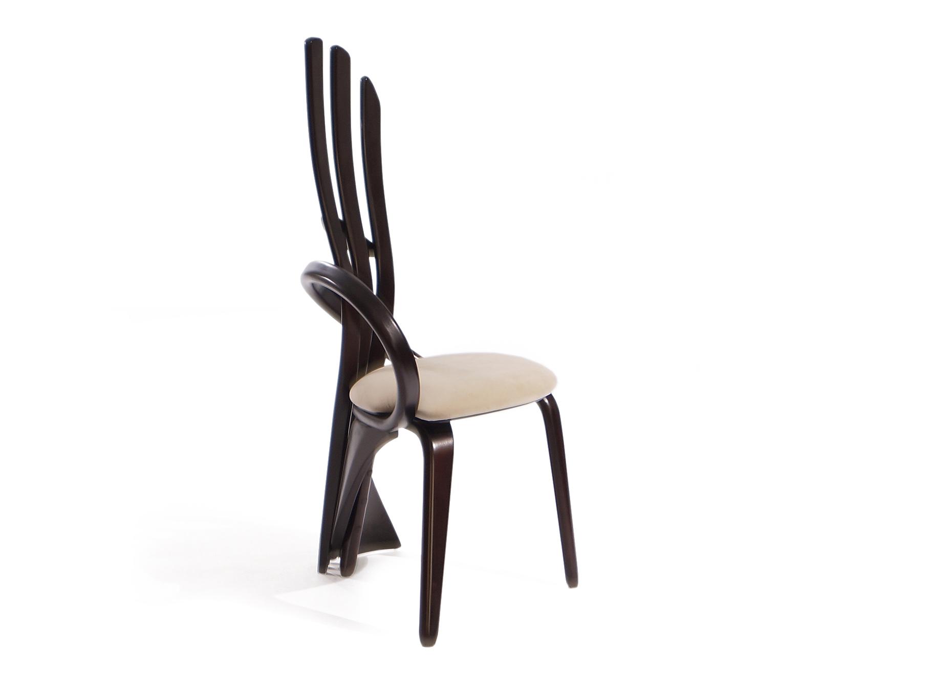 Стул Brazo MОбеденные стулья<br>&amp;lt;div&amp;gt;Дизайнерский стул с необычной эргономической конструкцией спинки из гнутого дерева. Хорошо подходит к столам серии brazo и virtuos.&amp;amp;nbsp;&amp;lt;/div&amp;gt;&amp;lt;div&amp;gt;&amp;lt;br&amp;gt;&amp;lt;/div&amp;gt;&amp;lt;div&amp;gt;Материал: натуральное дерево береза (цвет: венге)&amp;amp;nbsp;&amp;lt;/div&amp;gt;&amp;lt;div&amp;gt;Обивка: износостойкая ткань коллекции sensation 32.&amp;lt;/div&amp;gt;<br><br>Material: Кожа<br>Length см: None<br>Width см: 52<br>Depth см: 57<br>Height см: 114<br>Diameter см: None