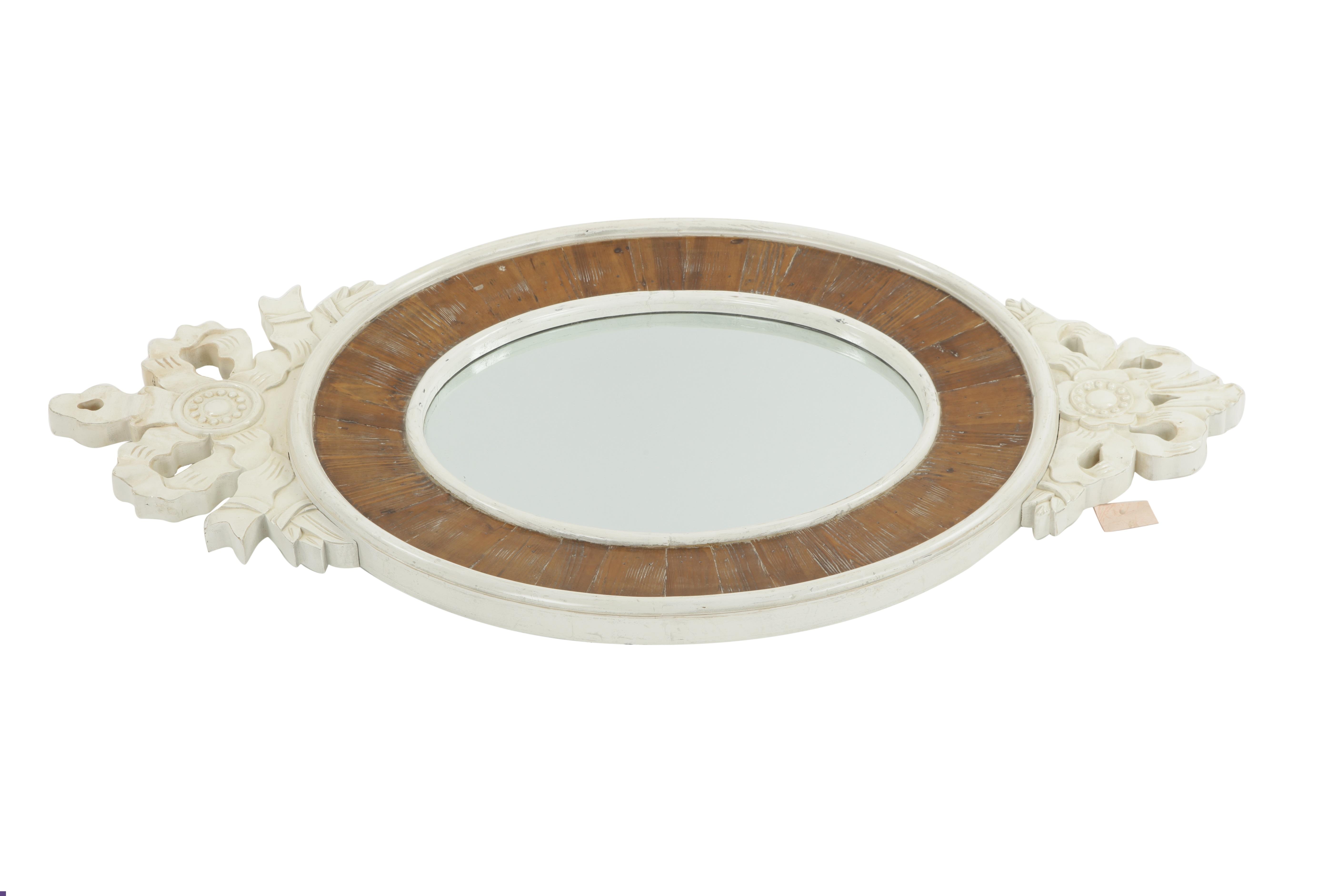 ЗеркалоНастенные зеркала<br><br><br>Material: Бук<br>Width см: 128<br>Depth см: 5<br>Height см: 70