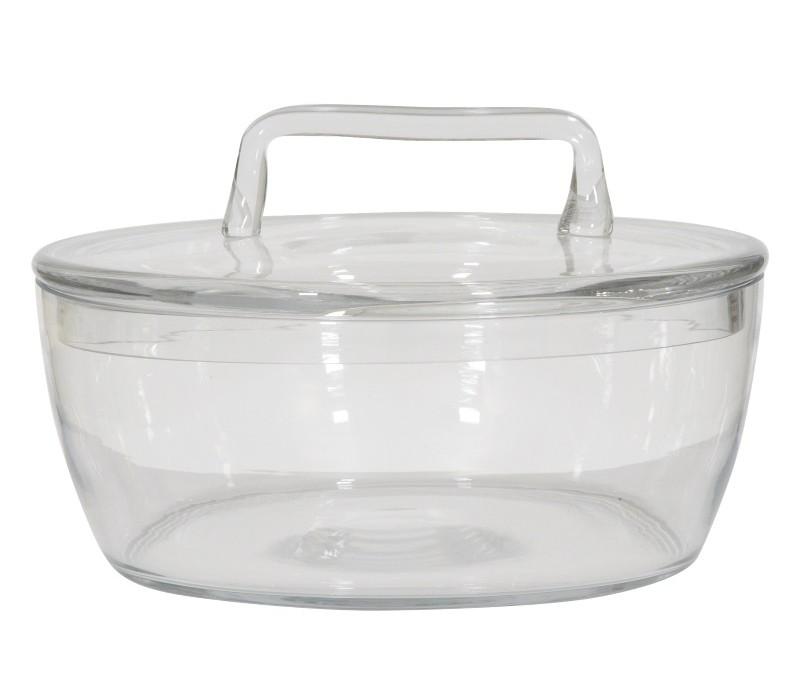 Емкость для хранения Basket glass lowЕмкости для хранения<br><br><br>Material: Стекло<br>Ширина см: 25<br>Высота см: 10<br>Глубина см: 25