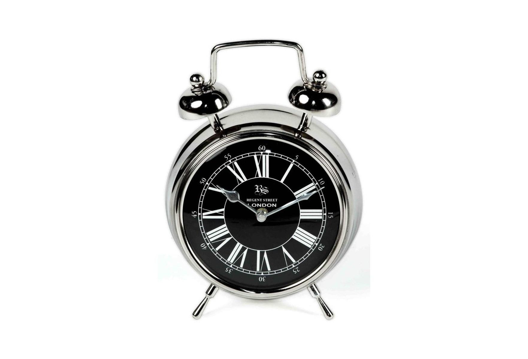 Часы настольныеНастольные часы<br>кварцевый механизм<br><br>Material: Металл<br>Width см: 19<br>Depth см: 9<br>Height см: 28