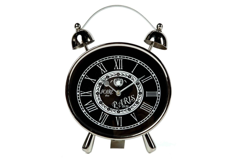 Часы настольныеНастольные часы<br>кварцевый механизм<br><br>Material: Металл<br>Width см: 23<br>Depth см: 5<br>Height см: 28