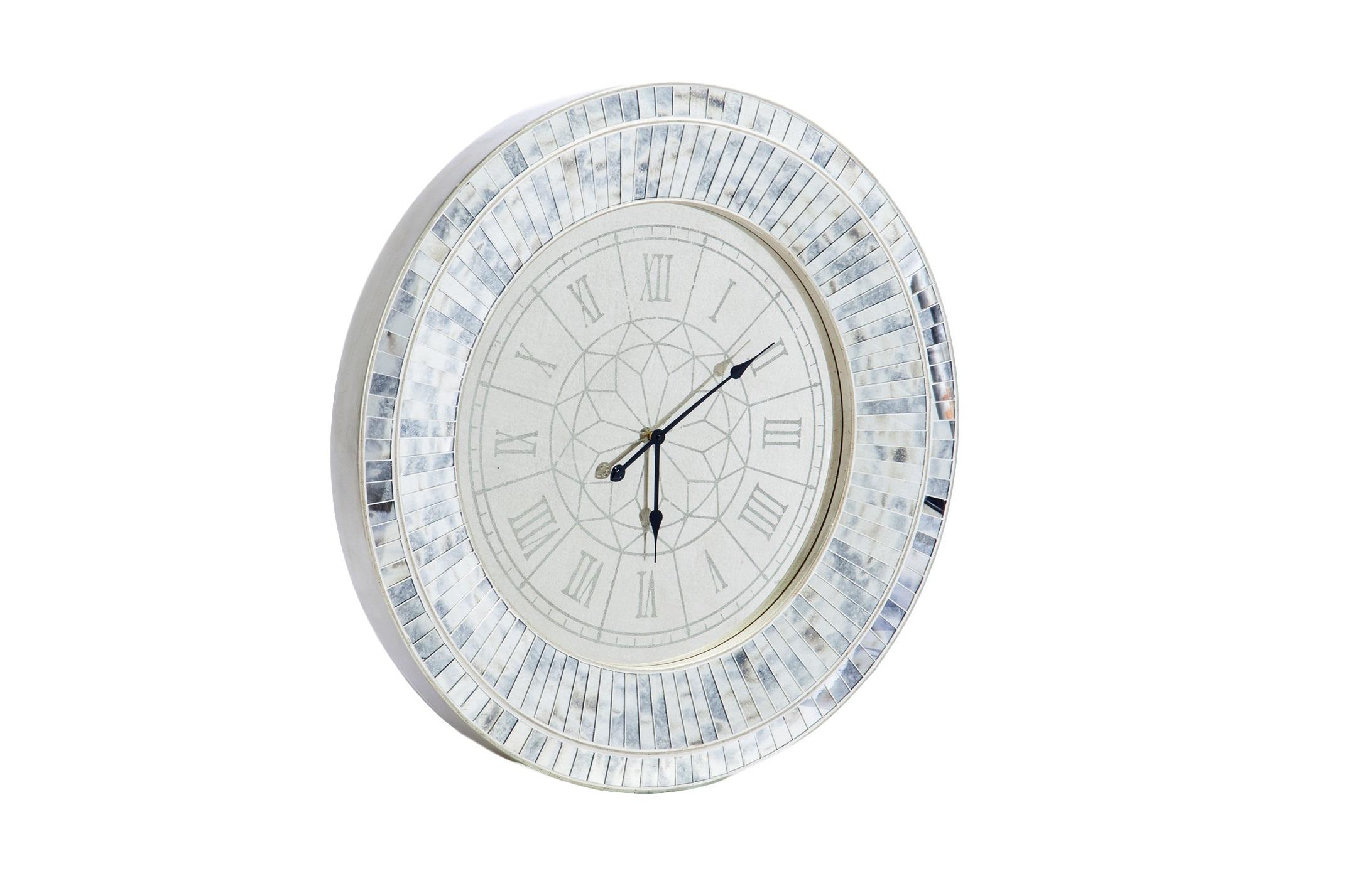 Часы настенныеНастенные часы<br>Часы в стиле арт-деко, декорированные вставками из зеркального стекла.&amp;lt;div&amp;gt;&amp;lt;br&amp;gt;&amp;lt;/div&amp;gt;&amp;lt;div&amp;gt;&amp;lt;div&amp;gt;Механизм: кварц&amp;lt;/div&amp;gt;&amp;lt;div&amp;gt;&amp;lt;br&amp;gt;&amp;lt;/div&amp;gt;&amp;lt;/div&amp;gt;<br><br>Material: Стекло<br>Depth см: 10<br>Diameter см: 101