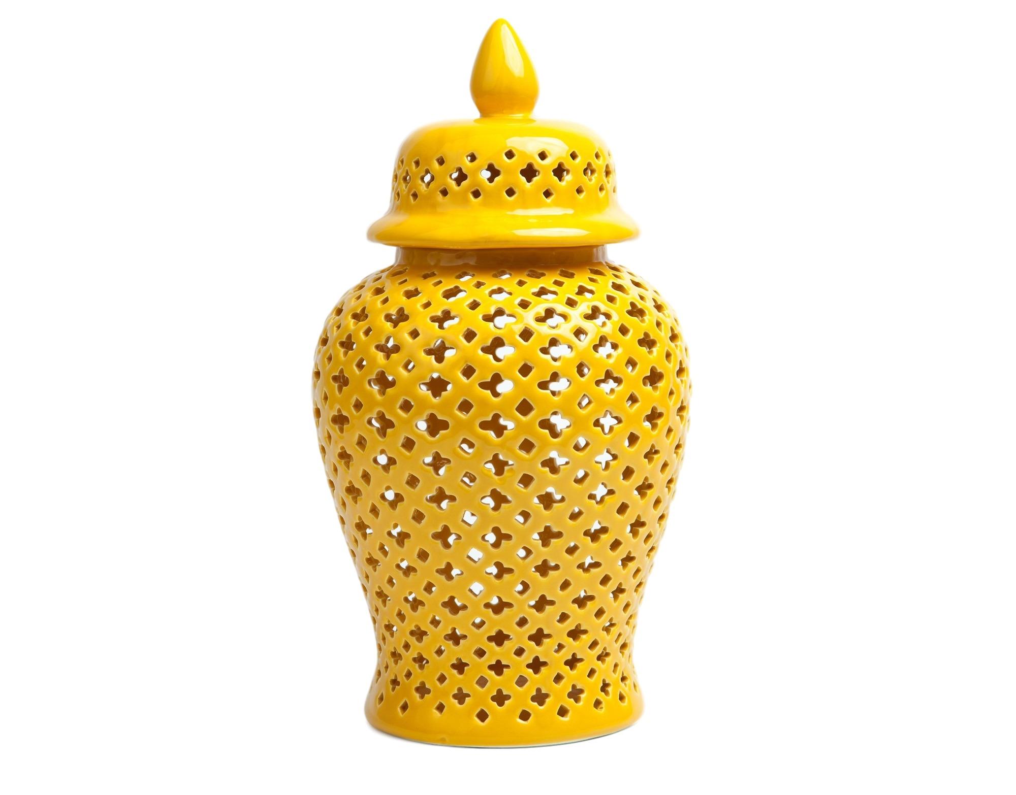 Кувшин декоративныйЕмкости для хранения<br>Декоративный керамический кувшин с крышкой.<br><br>Material: Керамика<br>Высота см: 44