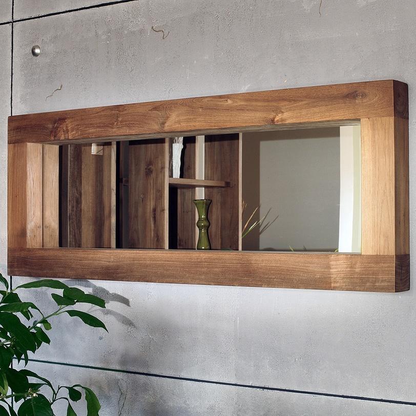 Зеркало  Fissure 120 Настенные зеркала<br>&amp;lt;div&amp;gt;Fissure – простой и лаконичный аксессуар, который украсит прихожую, ванную комнату и даже сауну. Зеркало заключено в широкую раму из натурального тика, придающего модели природную естественность. Массивные линии и строгий дизайн подчеркнут благородство интерьера и скромный деревенский колорит. &amp;amp;nbsp;&amp;amp;nbsp;&amp;lt;br&amp;gt;&amp;lt;/div&amp;gt;&amp;lt;div&amp;gt;&amp;lt;br&amp;gt;&amp;lt;/div&amp;gt;Возможны размеры: Ш: 180см Г: 8см В: 80см (PM-DBH-FI-450215)&amp;lt;div&amp;gt;&amp;lt;br&amp;gt;&amp;lt;/div&amp;gt;<br><br>Material: Тик<br>Length см: None<br>Width см: 120.0<br>Depth см: 8.0<br>Height см: 46.0<br>Diameter см: None