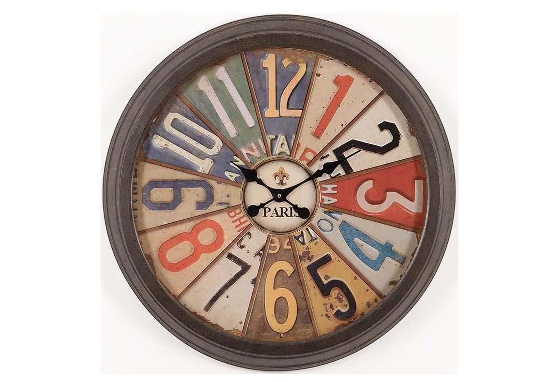 Часы настенные  BadijaНастенные часы<br>кварцевый механизм<br><br>Material: Металл<br>Depth см: 6<br>Diameter см: 70