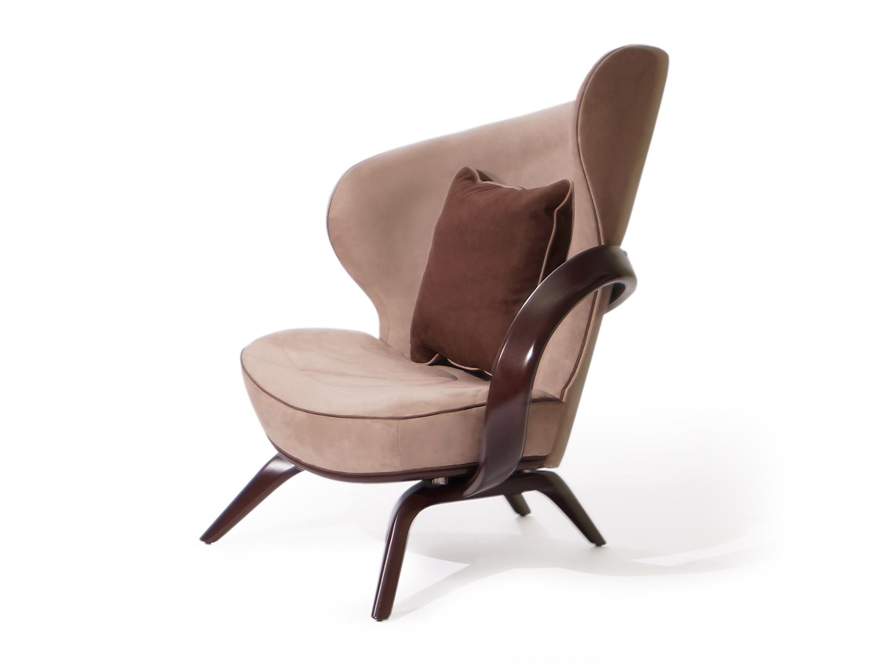 Кресло apriori а (actualdesign) коричневый 85.0x105.0x110.0 см. фото