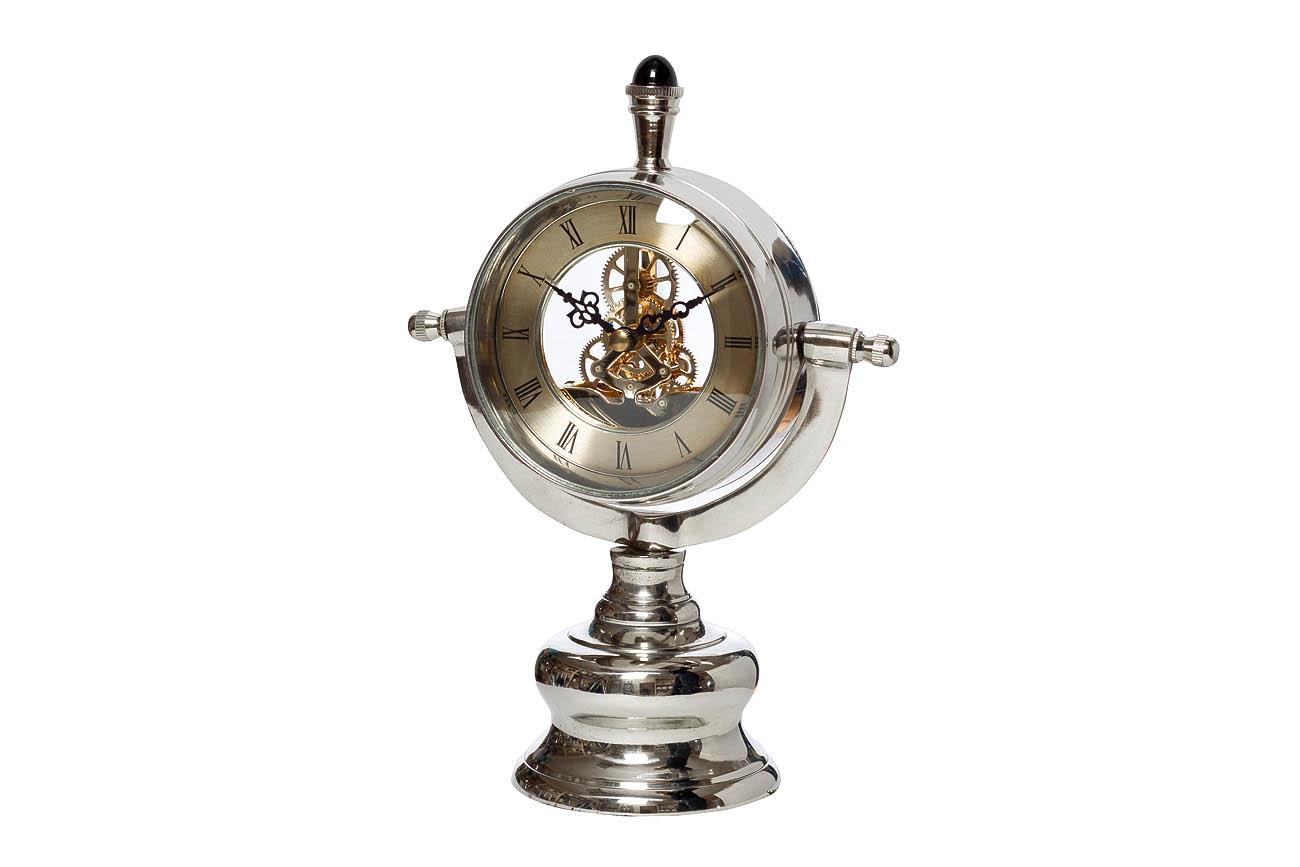Часы настольныеНастольные часы<br>&amp;lt;span style=&amp;quot;font-size: 14px;&amp;quot;&amp;gt;кварцевый механизм&amp;lt;/span&amp;gt;<br><br>Material: Алюминий<br>Ширина см: 15<br>Высота см: 24<br>Глубина см: 10