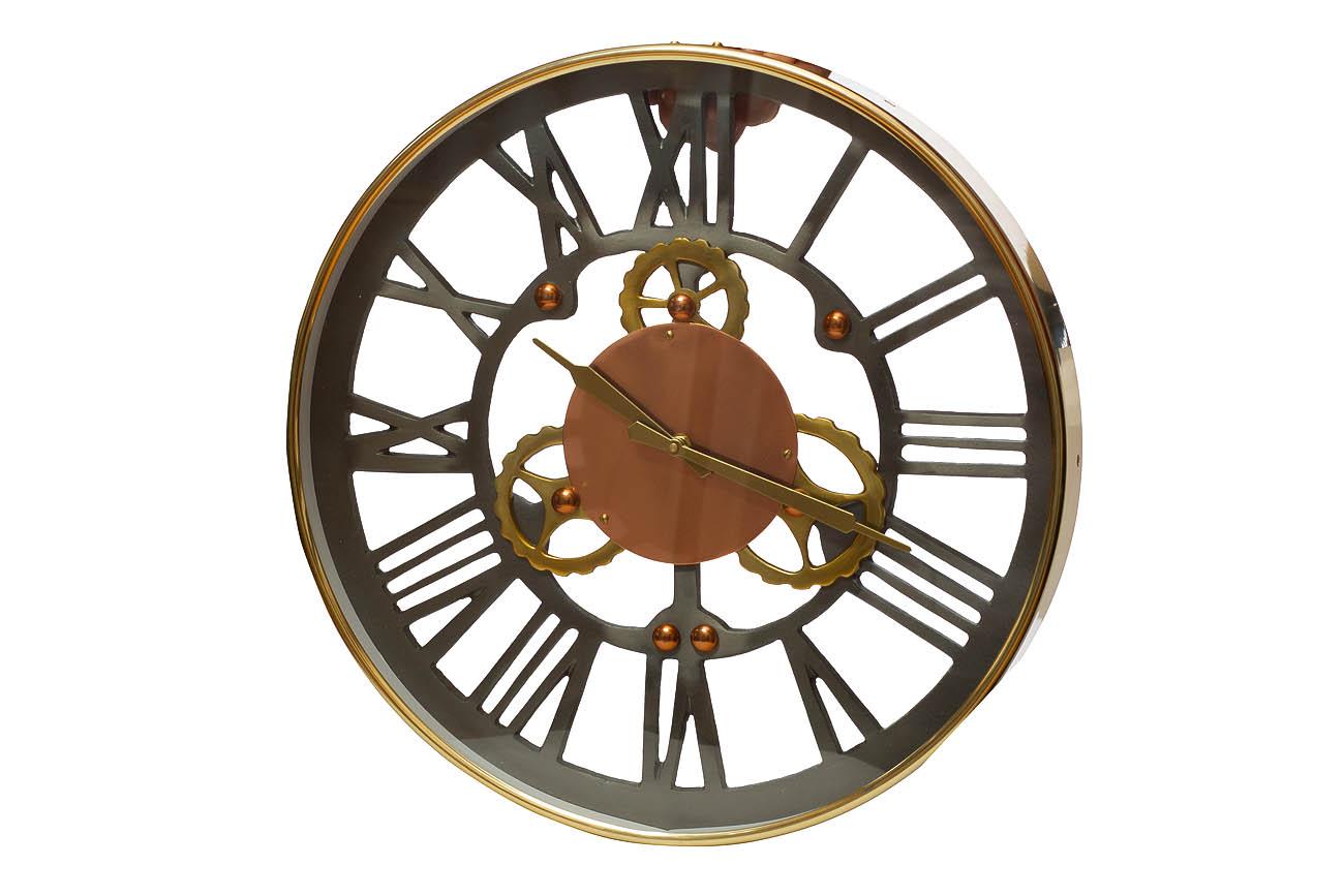 Часы настенныеНастенные часы<br>&amp;lt;span style=&amp;quot;font-size: 14px;&amp;quot;&amp;gt;кварцевый механизм&amp;lt;/span&amp;gt;<br><br>Material: Алюминий<br>Depth см: 5<br>Diameter см: 46