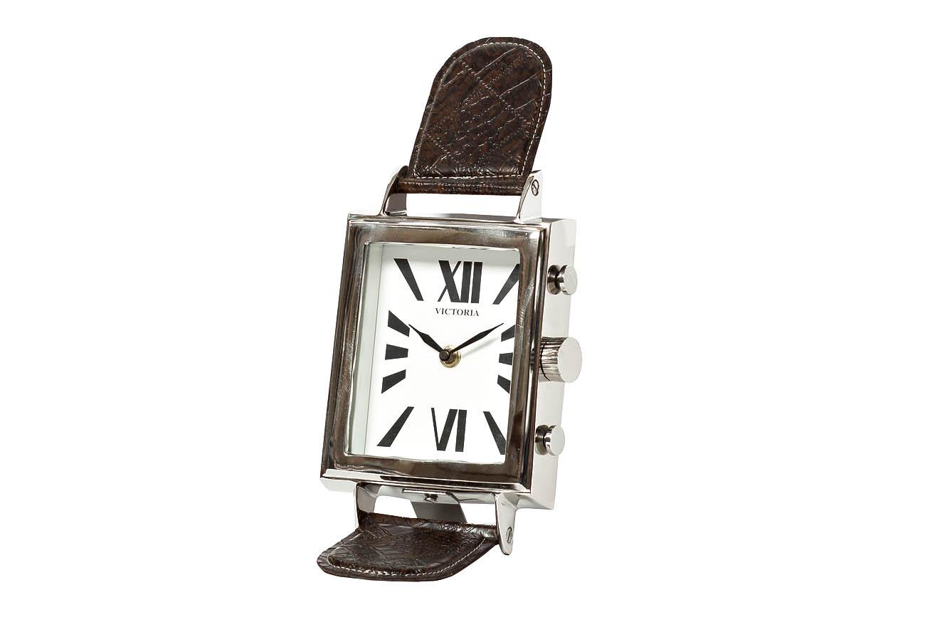 Часы настольныеНастольные часы<br>&amp;lt;span style=&amp;quot;font-size: 14px;&amp;quot;&amp;gt;кварцевый механизм&amp;lt;/span&amp;gt;<br><br>Material: Алюминий<br>Width см: 15<br>Depth см: 7<br>Height см: 20