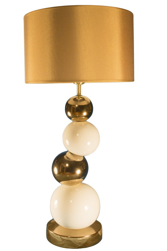 Настольная  лампаДекоративные лампы<br>Яркая, лучистая, солнечная лампа разгонит зимние сумерки и принесет в дом тепло летних дней.&amp;lt;div&amp;gt;&amp;lt;br&amp;gt;&amp;lt;/div&amp;gt;&amp;lt;div&amp;gt;&amp;lt;div&amp;gt;Вид цоколя: E27&amp;lt;/div&amp;gt;&amp;lt;div&amp;gt;Мощность: 60W&amp;lt;/div&amp;gt;&amp;lt;div&amp;gt;Количество ламп: 1&amp;lt;/div&amp;gt;&amp;lt;/div&amp;gt;<br><br>Material: Керамика<br>Height см: 73.5<br>Diameter см: 35