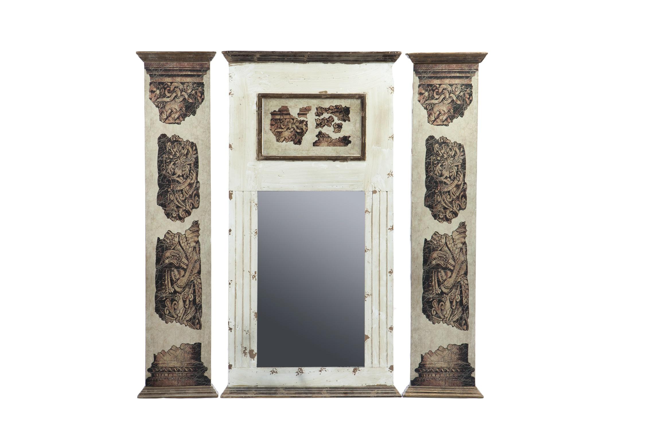 Зеркало из трех частей