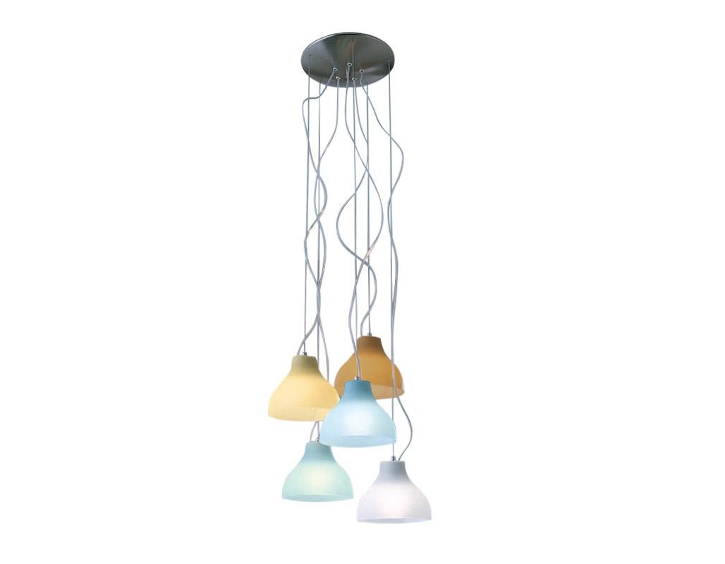 Подвесной светильник NourПодвесные светильники<br>&amp;lt;div&amp;gt;Подвесной светильник из коллекции Nour на никелированной арматуре. Плафоны из матового стекла цвета аквамарин.&amp;lt;/div&amp;gt;&amp;lt;div&amp;gt;&amp;lt;br&amp;gt;&amp;lt;/div&amp;gt;&amp;lt;div&amp;gt;Диаметр одного плафона: 18 см.&amp;lt;/div&amp;gt;&amp;lt;div&amp;gt;Высоту светильника можно регулировать до 120 см.&amp;lt;/div&amp;gt;&amp;lt;div&amp;gt;Дизайн: Studio tecnico Vetreria Vistosi.&amp;lt;br&amp;gt;&amp;lt;/div&amp;gt;&amp;lt;div&amp;gt;&amp;lt;br&amp;gt;&amp;lt;/div&amp;gt;&amp;lt;div&amp;gt;&amp;lt;br&amp;gt;&amp;lt;/div&amp;gt;&amp;lt;div&amp;gt;Вид цоколя: E27&amp;lt;/div&amp;gt;&amp;lt;div&amp;gt;Мощность лампы: 100W&amp;lt;/div&amp;gt;&amp;lt;div&amp;gt;Количество ламп: 5&amp;lt;/div&amp;gt;<br><br>Material: Стекло<br>Ширина см: 18.0<br>Высота см: 15.0<br>Глубина см: 18.0