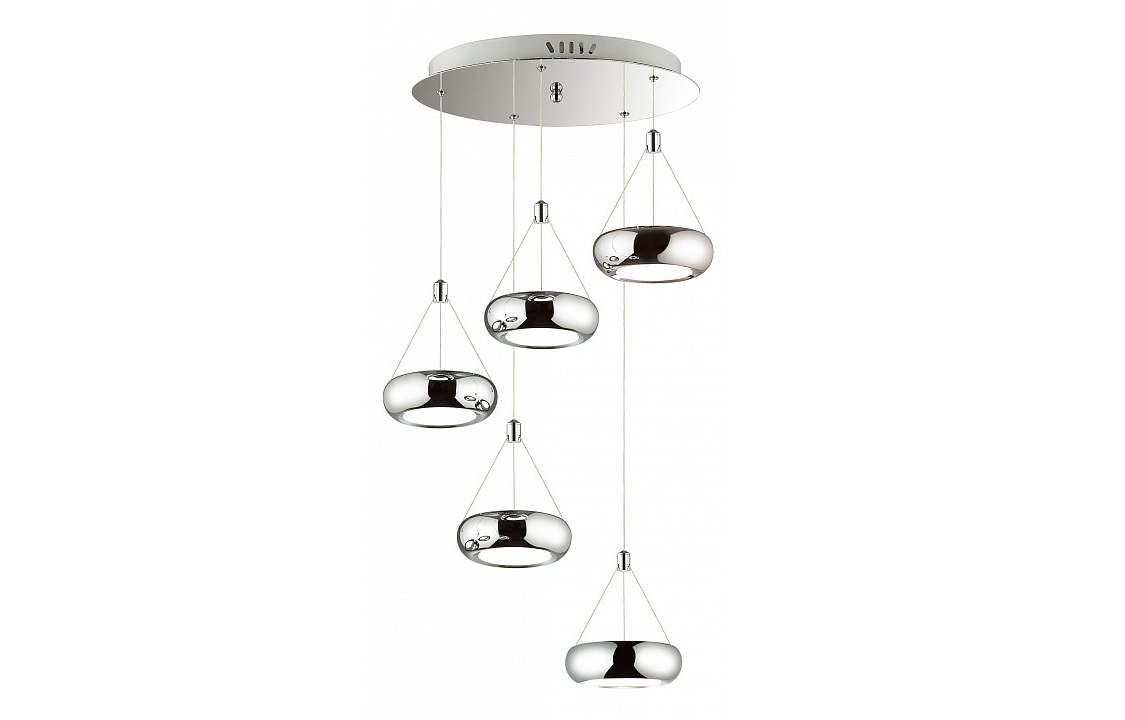 Подвесной светильник TellerПодвесные светильники<br>&amp;lt;div&amp;gt;Вид цоколя: LED&amp;lt;/div&amp;gt;&amp;lt;div&amp;gt;Мощность: 6W&amp;lt;/div&amp;gt;&amp;lt;div&amp;gt;Количество ламп: 5&amp;lt;/div&amp;gt;<br><br>Material: Металл<br>Height см: 120<br>Diameter см: 48