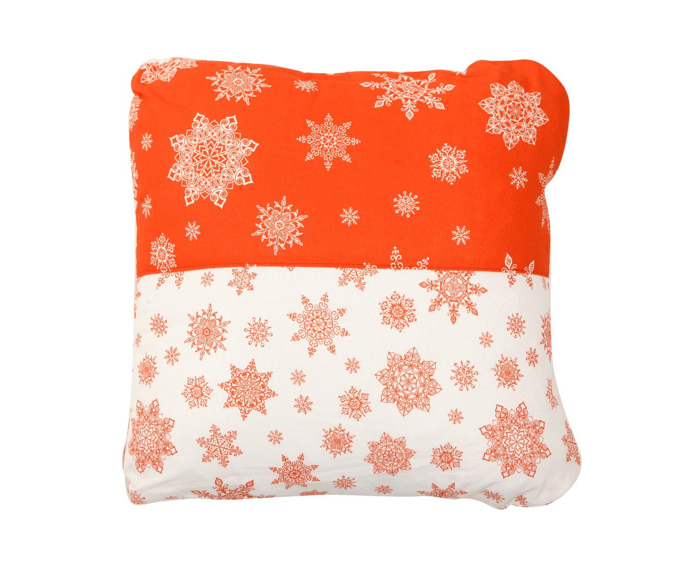 Набор подушек Новогодний калейдоскоп (2шт)Квадратные подушки<br>Декоративная подушка станет стильным акцентом в вашем интерьере. Оригинальный принт внесёт уют и позитив в интерьер. Плотная хлопковая ткань съёмной наволочки с молнией легко стирается и не изнашивается. Внутренние подушки-наполнители продаются отдельно.<br><br>Material: Хлопок<br>Length см: None<br>Width см: 45<br>Depth см: 18<br>Height см: 45