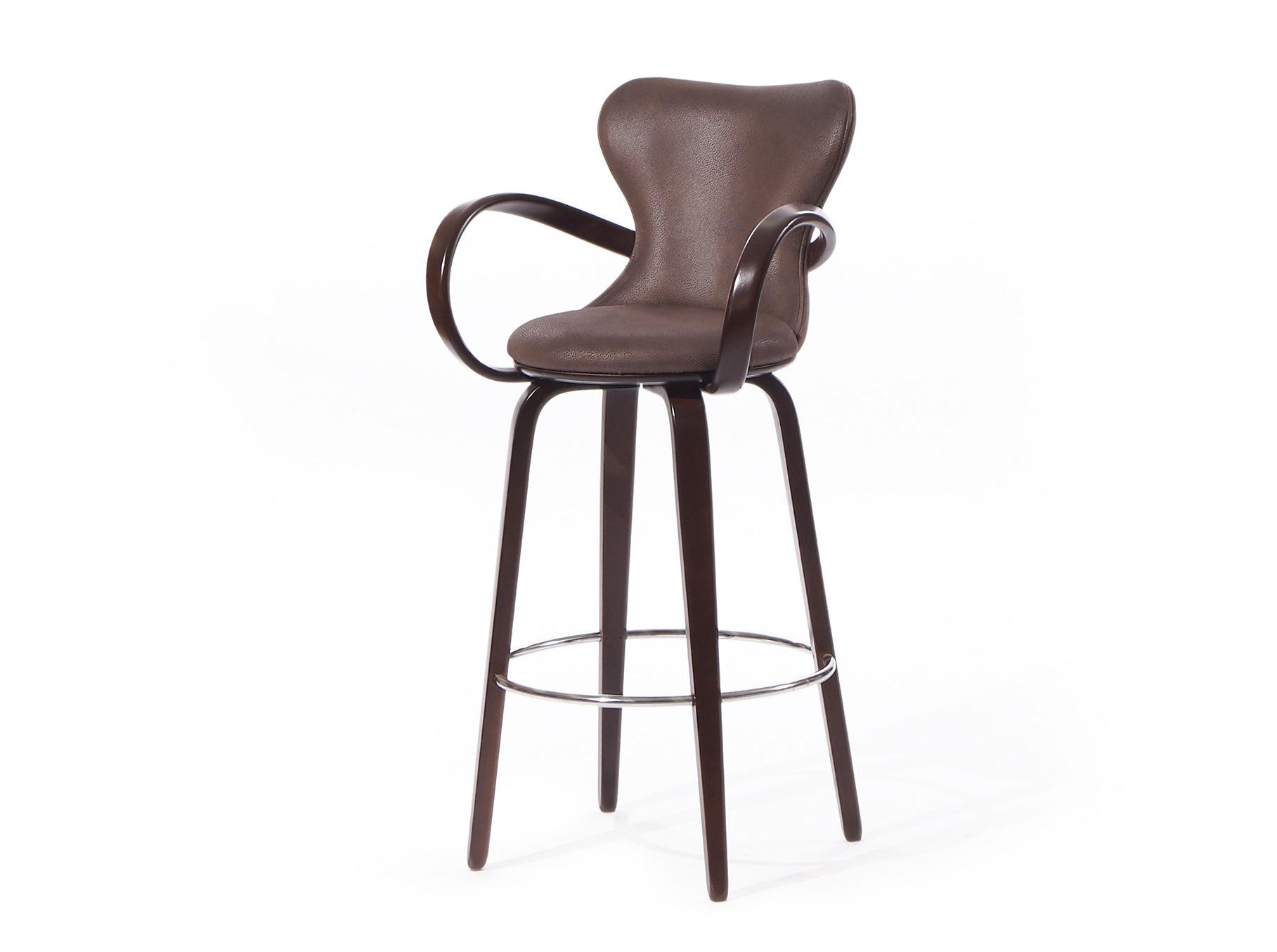 Стул барный Apriori SБарные стулья<br>&amp;lt;div&amp;gt;Барный стул из натурального гнутого дерева.&amp;amp;nbsp;&amp;lt;/div&amp;gt;&amp;lt;div&amp;gt;&amp;lt;br&amp;gt;&amp;lt;/div&amp;gt;&amp;lt;div&amp;gt;Высота от пола до верха сидения 70см .&amp;amp;nbsp;&amp;lt;/div&amp;gt;&amp;lt;div&amp;gt;Материал: натуральное дерево береза (9т венге).&amp;lt;/div&amp;gt;&amp;lt;div&amp;gt;Обивка: гранд каньон.&amp;lt;/div&amp;gt;<br><br>Material: Дерево<br>Length см: None<br>Width см: 53<br>Depth см: 53<br>Height см: 108
