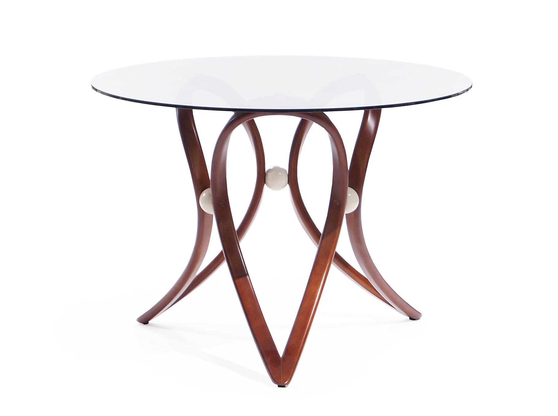 Стол обеденный Apriori VОбеденные столы<br>&amp;lt;div&amp;gt;Обеденный круглый стол с изящным основанием из натурального дерева.&amp;amp;nbsp;&amp;lt;/div&amp;gt;&amp;lt;div&amp;gt;&amp;lt;br&amp;gt;&amp;lt;/div&amp;gt;&amp;lt;div&amp;gt;Материал: натуральное дерево береза (8тон орех).&amp;lt;/div&amp;gt;&amp;lt;div&amp;gt;Стекло тонированное.&amp;lt;/div&amp;gt;<br><br>Material: Стекло<br>Length см: None<br>Width см: None<br>Height см: 75<br>Diameter см: 105