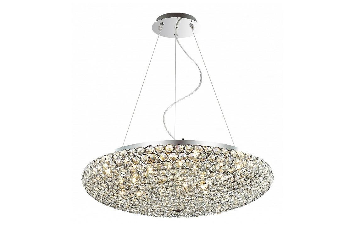 Подвесной светильник SunshineПодвесные светильники<br>&amp;lt;div&amp;gt;Вид цоколя: G9&amp;lt;br&amp;gt;&amp;lt;/div&amp;gt;&amp;lt;div&amp;gt;Мощность: 40W&amp;lt;/div&amp;gt;&amp;lt;div&amp;gt;Количество ламп: 12&amp;lt;/div&amp;gt;<br><br>Material: Хрусталь<br>Height см: 120<br>Diameter см: 65
