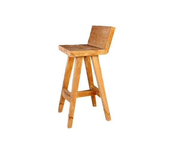 Стул барныйБарные стулья<br>ROOMERS – это особенная коллекция, воплощение всего самого лучшего, модного и новаторского в мире дизайнерской мебели, предметов декора и стильных аксессуаров. Интерьерные решения от ROOMERS – всегда актуальны, более того, они - на острие моды. Коллекции ROOMERS тщательно отбираются и обновляются дважды в год специально для вас.<br><br>Material: Тик<br>Width см: 44<br>Depth см: 45<br>Height см: 95
