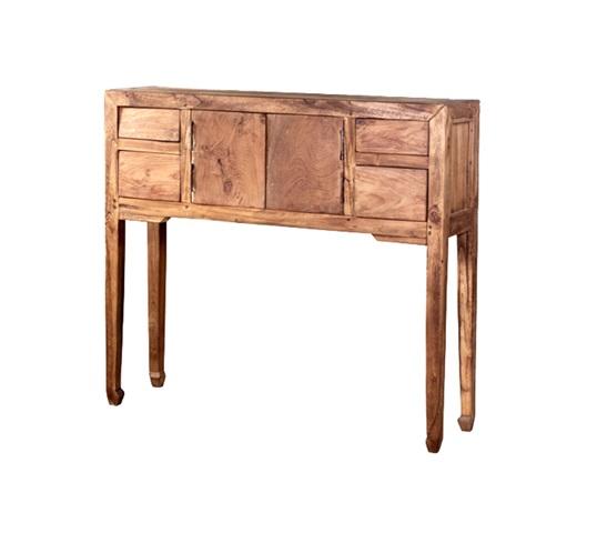 Консоль LENOКонсоли с ящиками<br>ROOMERS – это особенная коллекция, воплощение всего самого лучшего, модного и новаторского в мире дизайнерской мебели, предметов декора и стильных аксессуаров. Интерьерные решения от ROOMERS – всегда актуальны, более того, они - на острие моды. Коллекции ROOMERS тщательно отбираются и обновляются дважды в год специально для вас.<br><br>Material: Тик<br>Width см: 90<br>Depth см: 25<br>Height см: 80