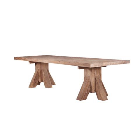 Стол JERCOОбеденные столы<br>ROOMERS – это особенная коллекция, воплощение всего самого лучшего, модного и новаторского в мире дизайнерской мебели, предметов декора и стильных аксессуаров. Интерьерные решения от ROOMERS – всегда актуальны, более того, они - на острие моды. Коллекции ROOMERS тщательно отбираются и обновляются дважды в год специально для вас.<br><br>Material: Тик<br>Width см: 180<br>Depth см: 80<br>Height см: 75