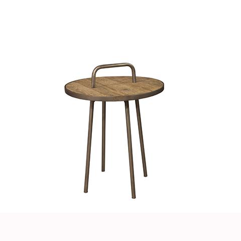 Стол приставной ФизерПриставные столики<br><br><br>Material: Дерево<br>Height см: 65<br>Diameter см: 50