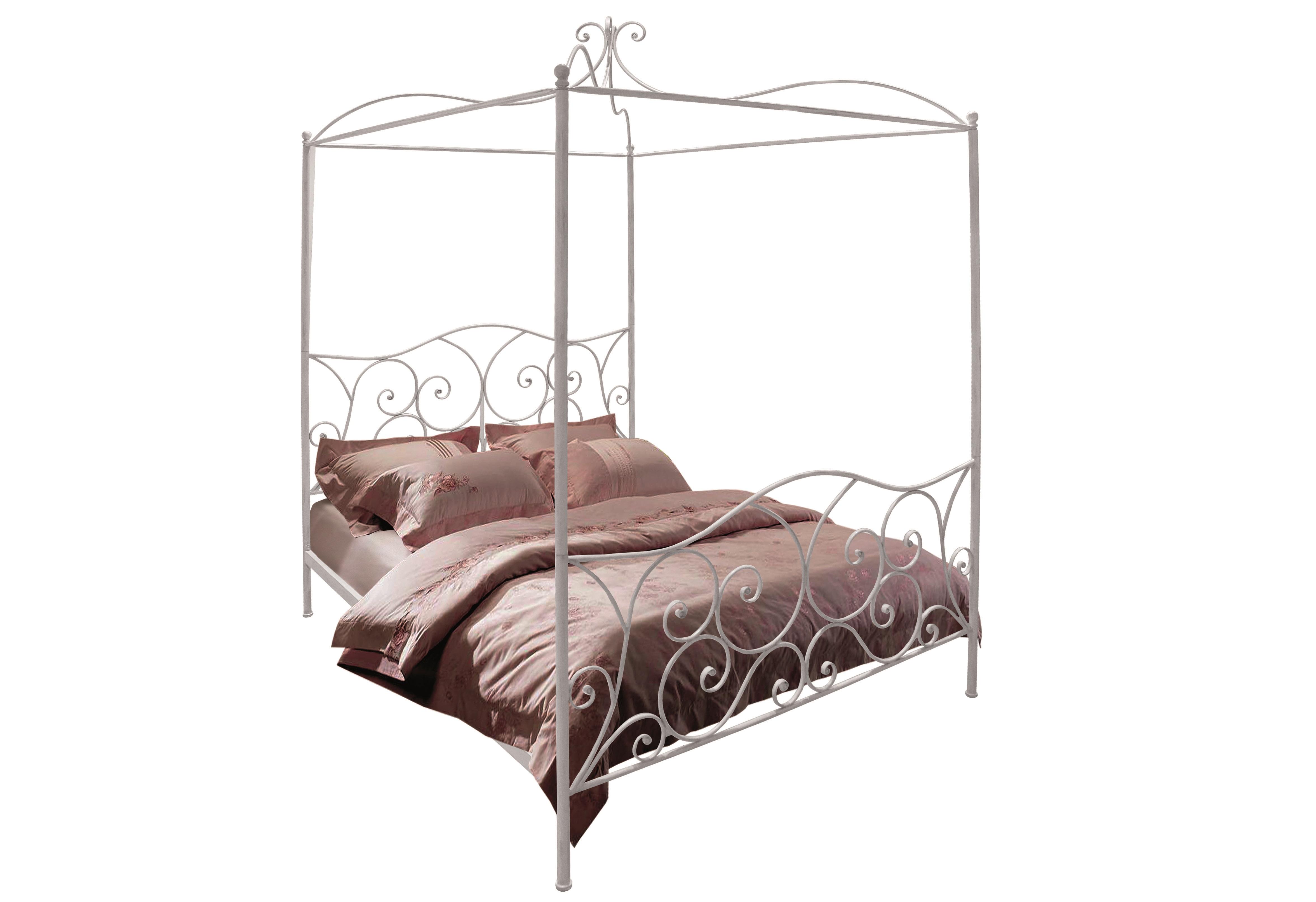 Кровать BrungerКованые кровати<br><br><br>Material: Металл<br>Length см: None<br>Width см: 167<br>Depth см: 209<br>Height см: 204
